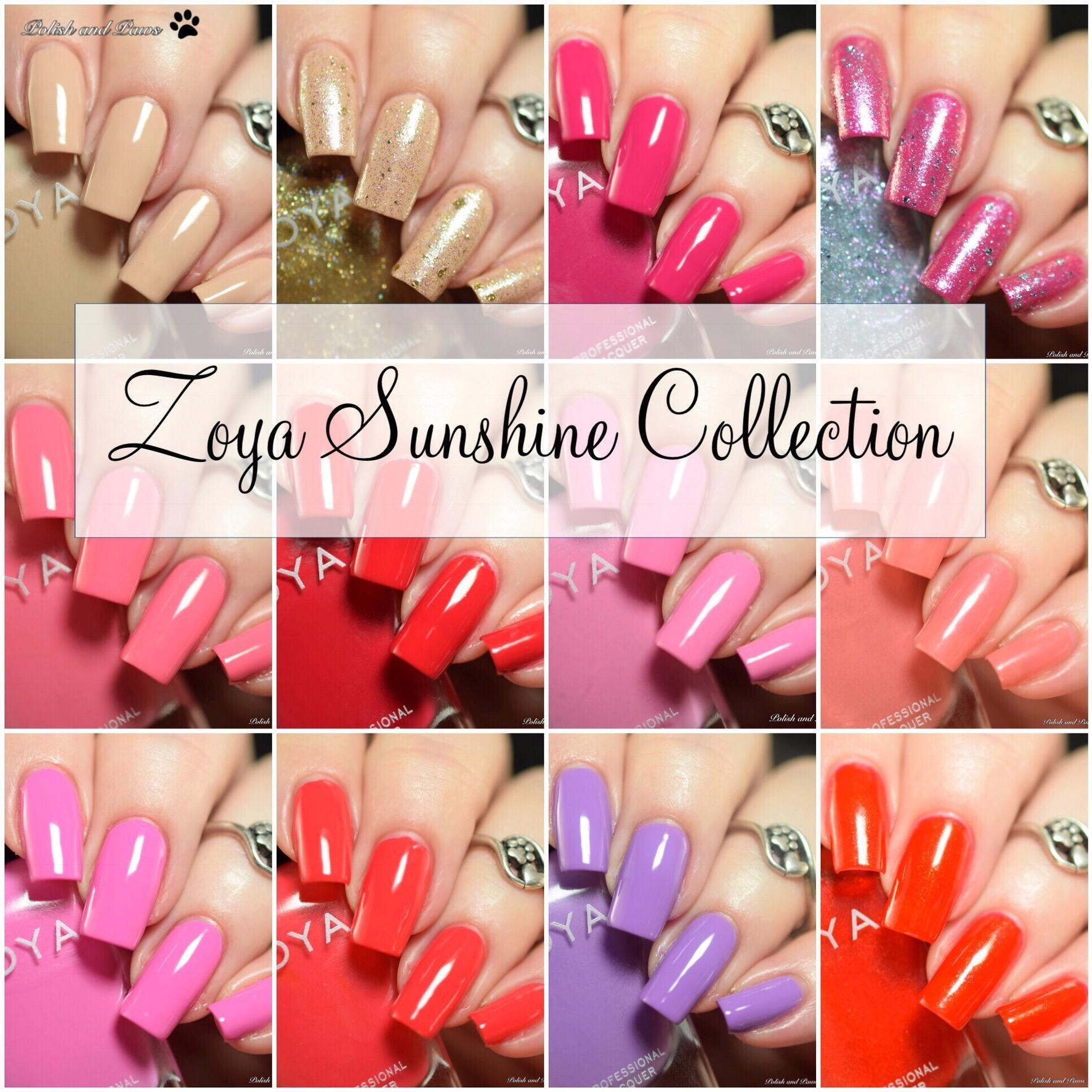 Zoya Sunshine Collection Summer 2018