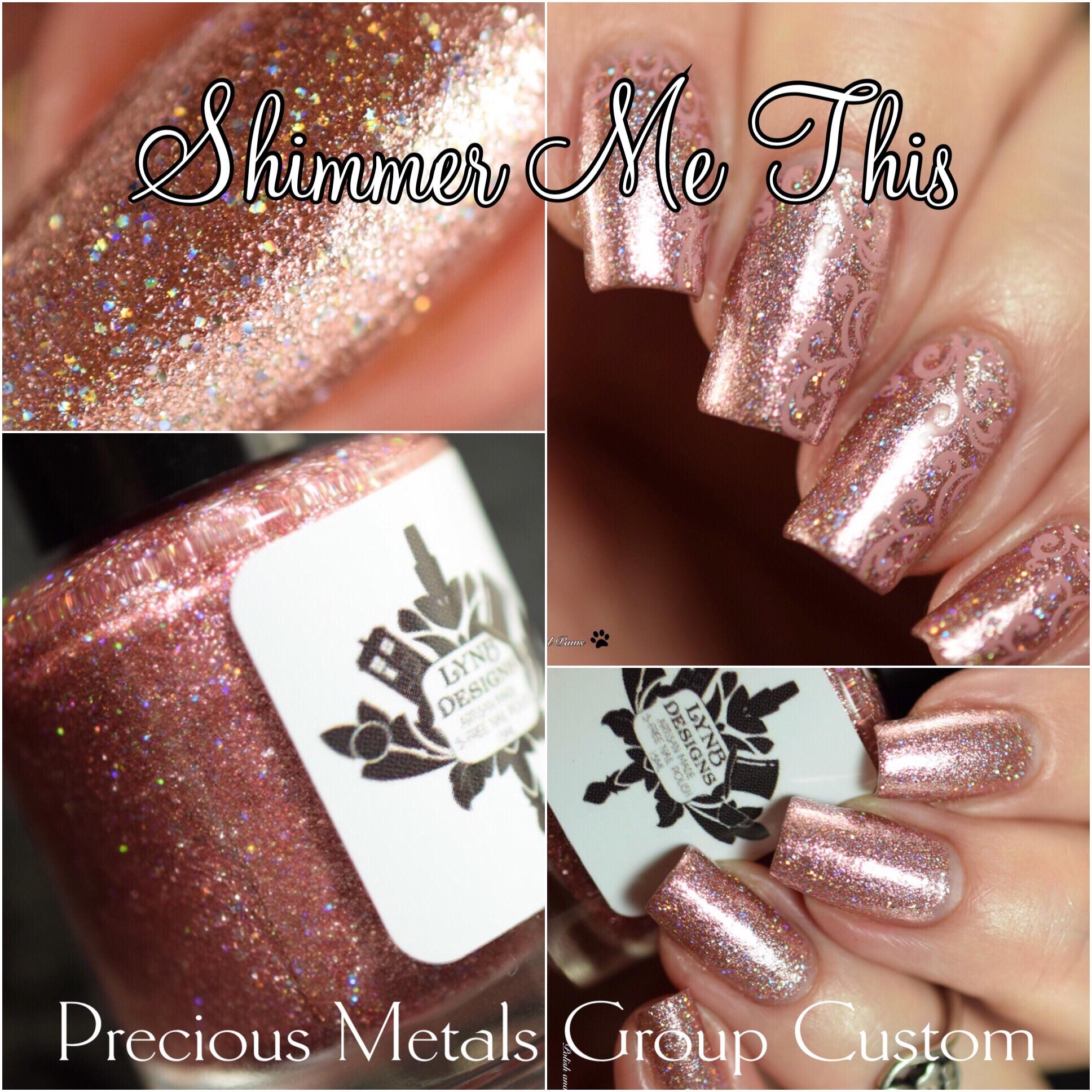 LynB Designs Shimmer Me This