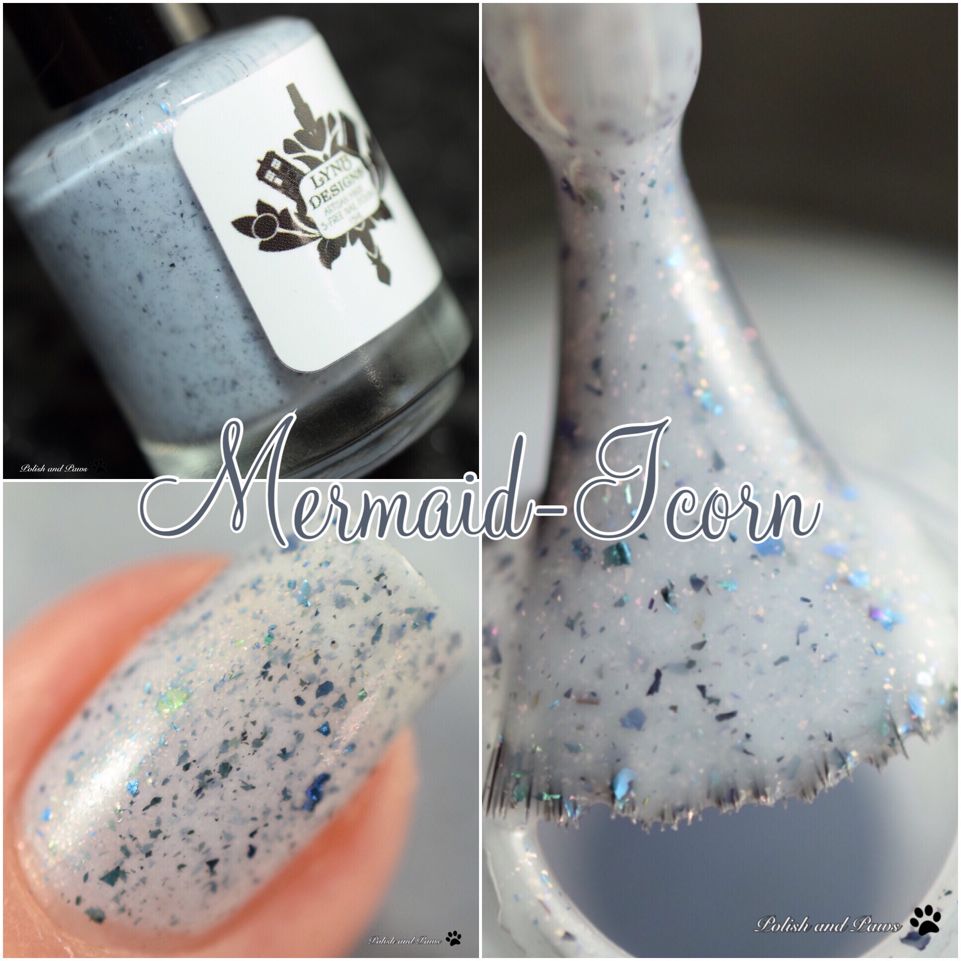 LynB Designs Mermaid-Icorn