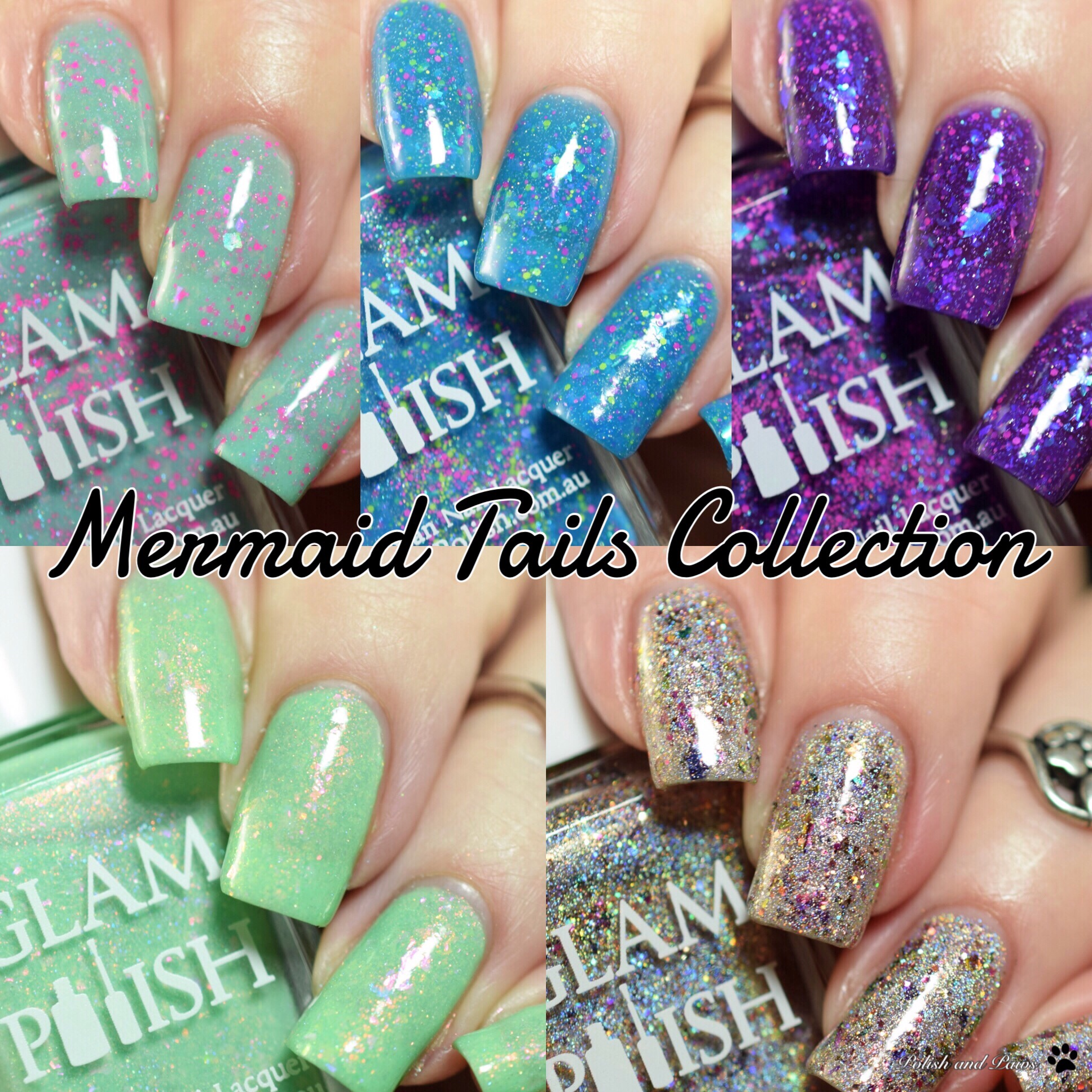 Glam Polish Mermaid Tails Collection LE (partial)
