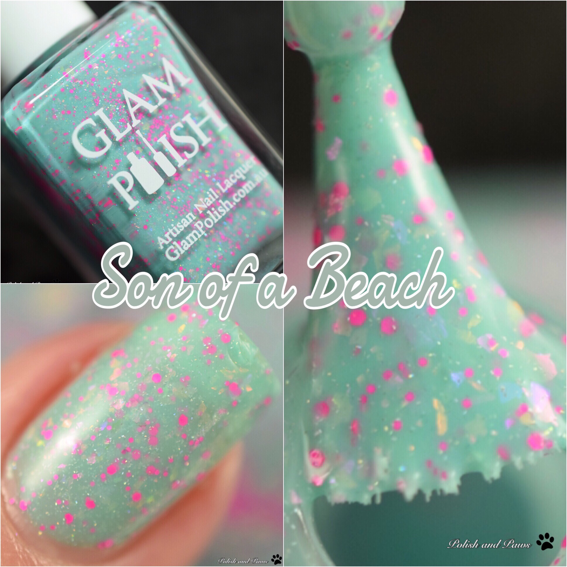 Glam Polish Son of a Beach