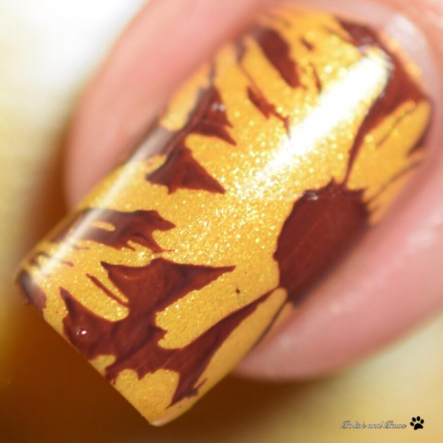 LeChat Sunflower Nails