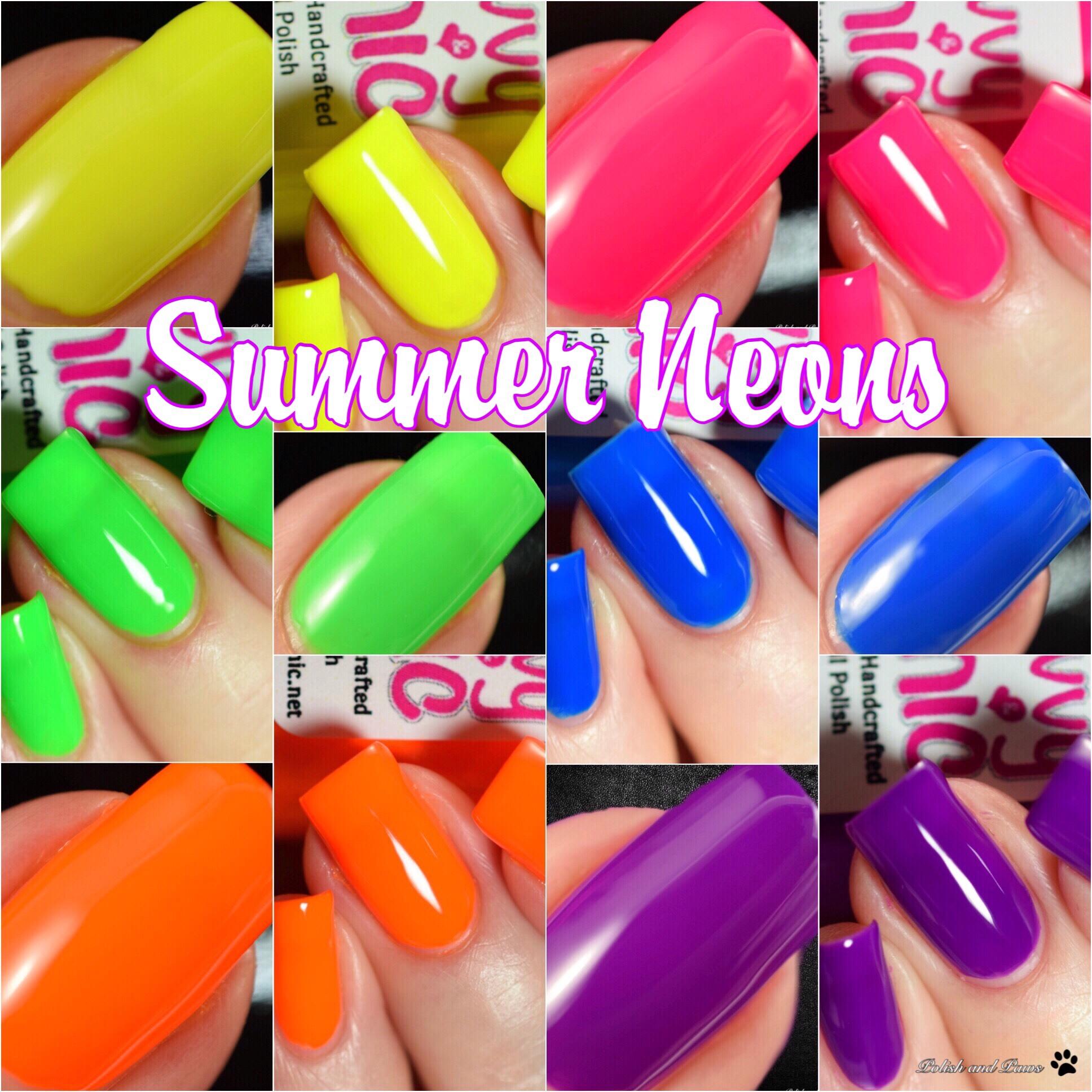 Savvy & Chic Summer Neons