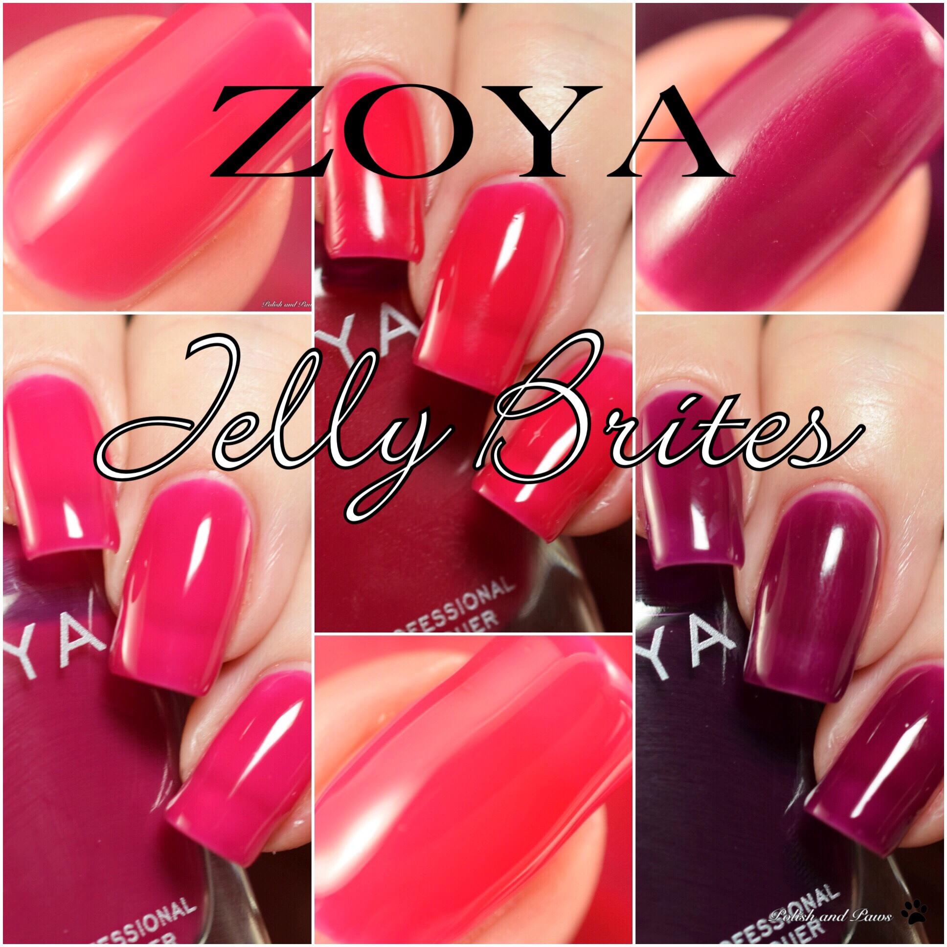 Zoya Jelly Brites Trio ~ Summer 2018