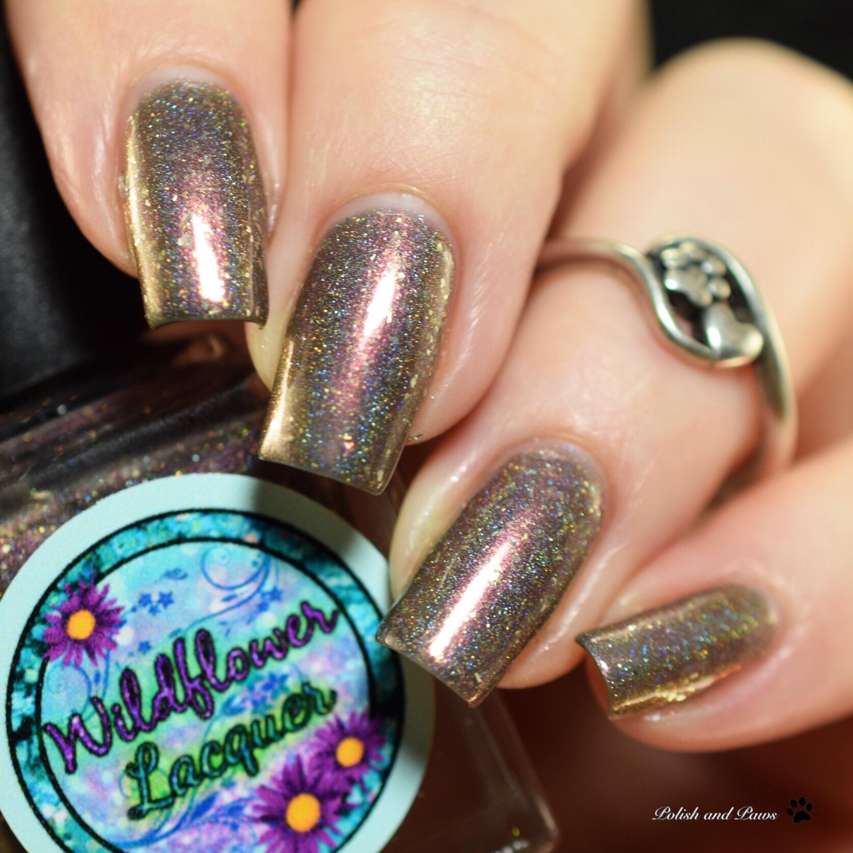 Wildflower Lacquer Burnin' Up the Quarter Mile