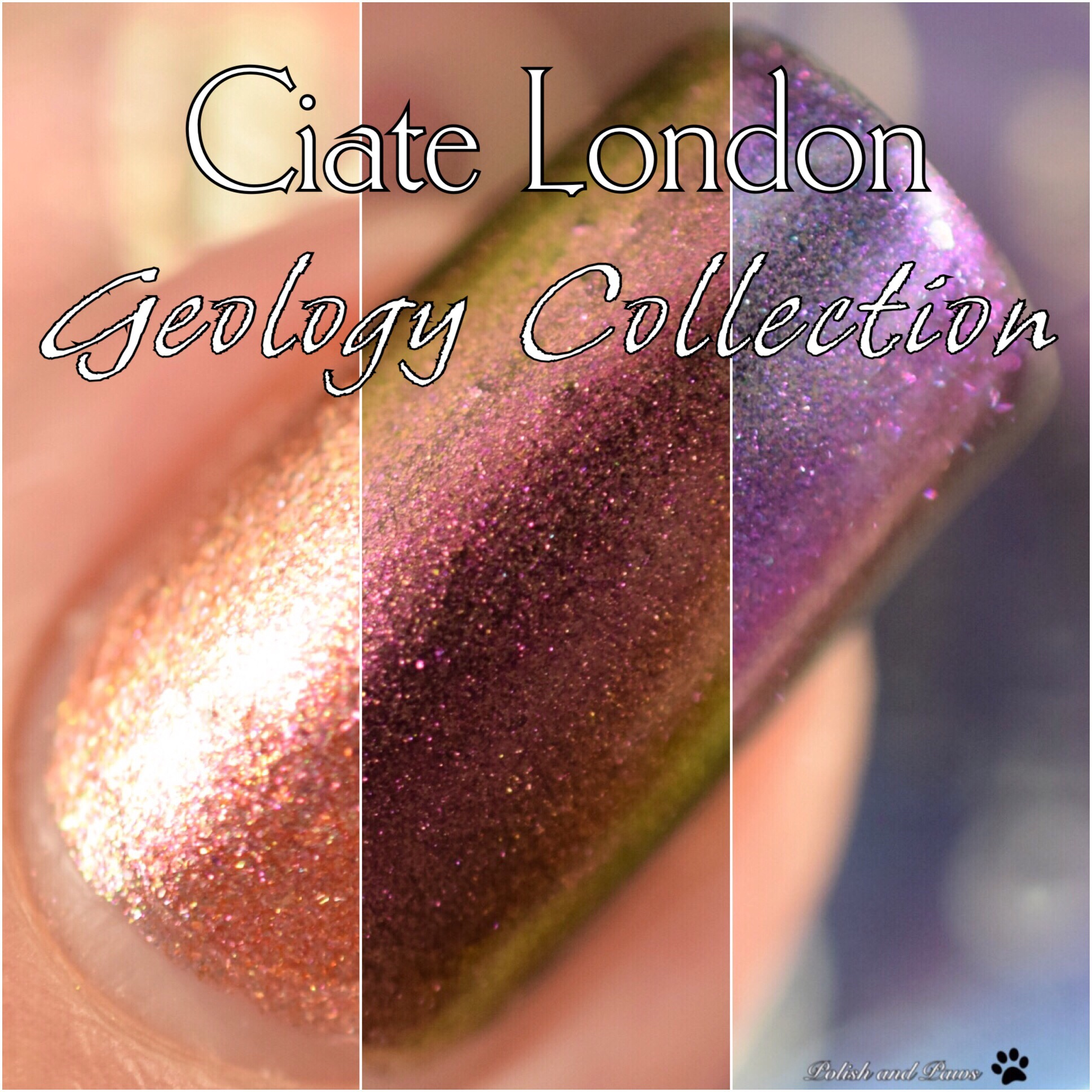 Ciate London Geology Collection SS18