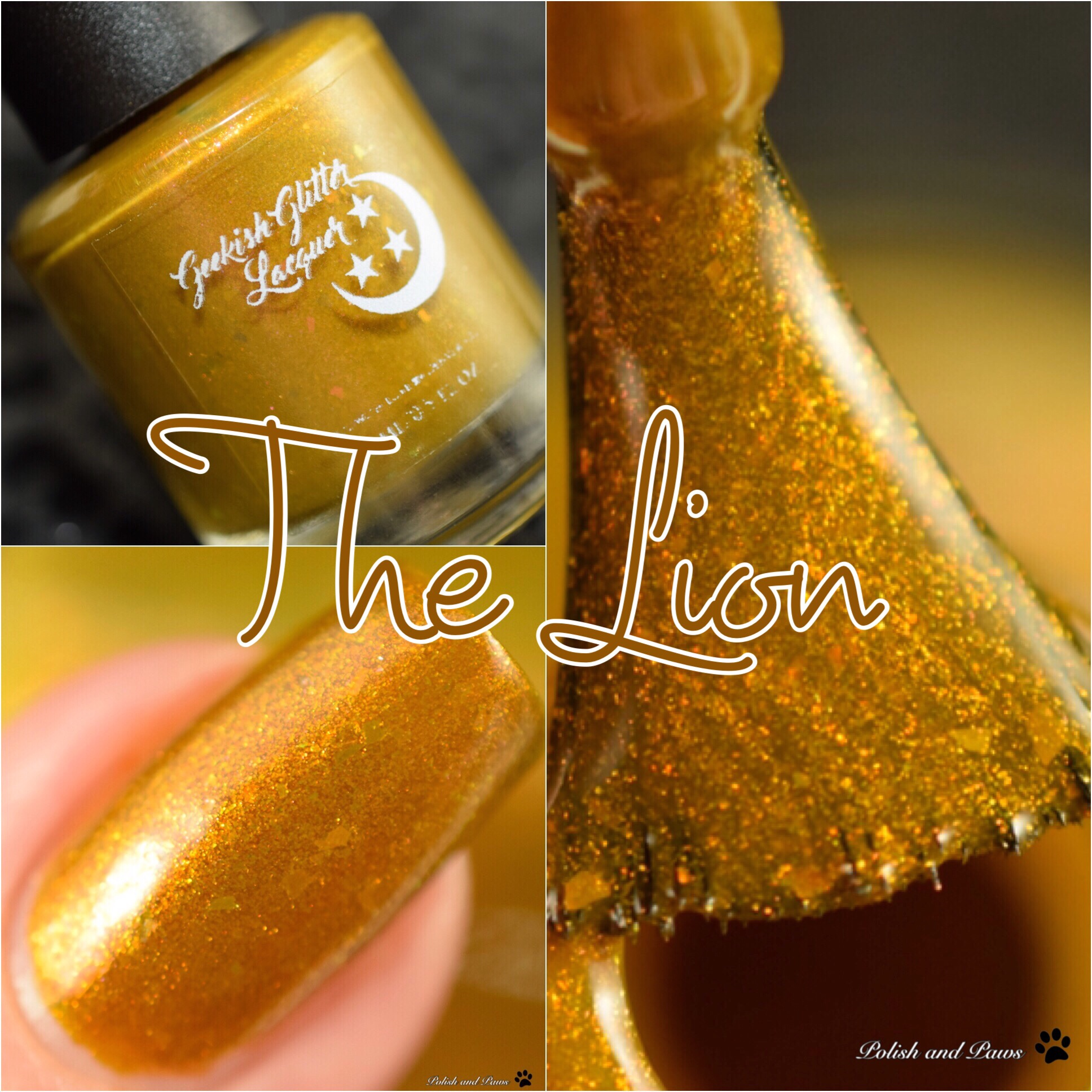 Geekish Glitter Lacquer The Lion