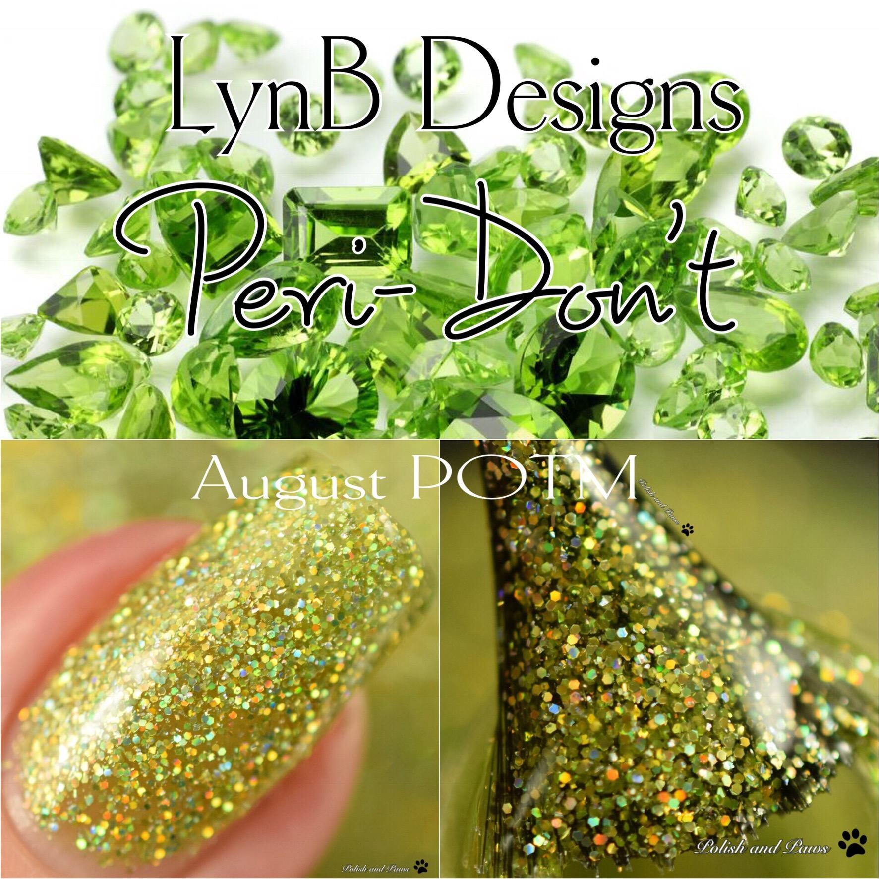 LynB Designs Peri-Don't