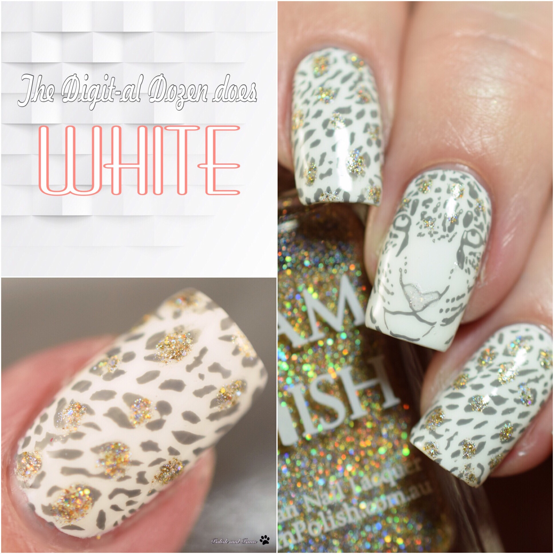 The Digit-al Dozen does White: Leopard