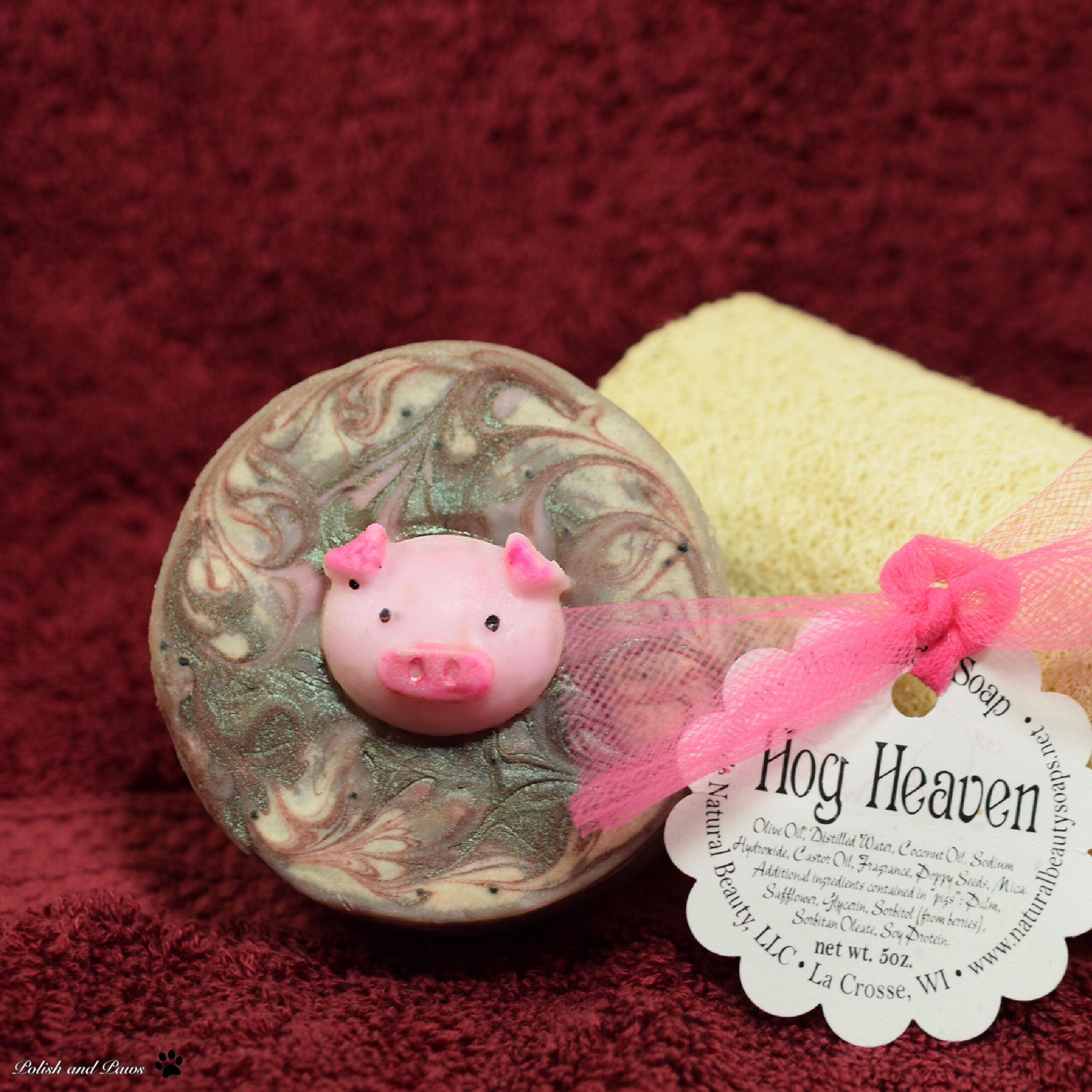 Handmade Natural Beauty Hog Heaven Soap