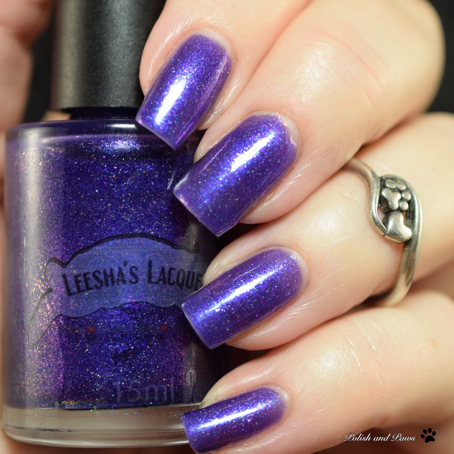 Leesha's Lacquer Time & Space August OOAK