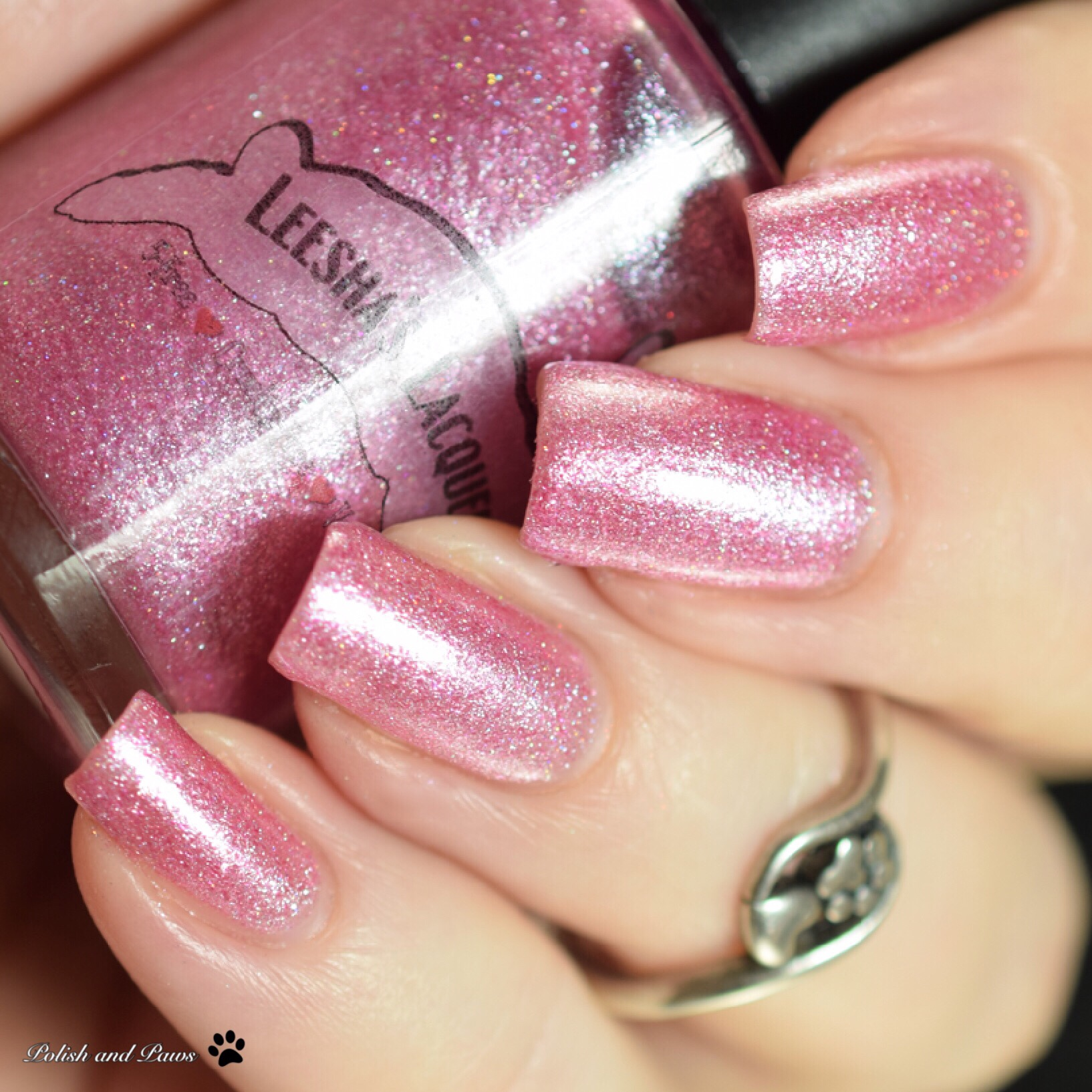 Leesha's Lacquer 2 Pretty 2 be Pink