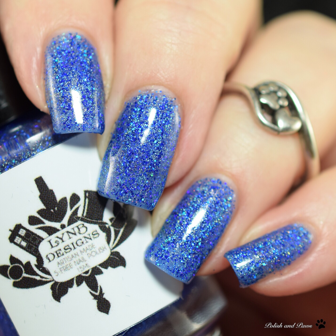 LynB Designs Saturated Sapphire
