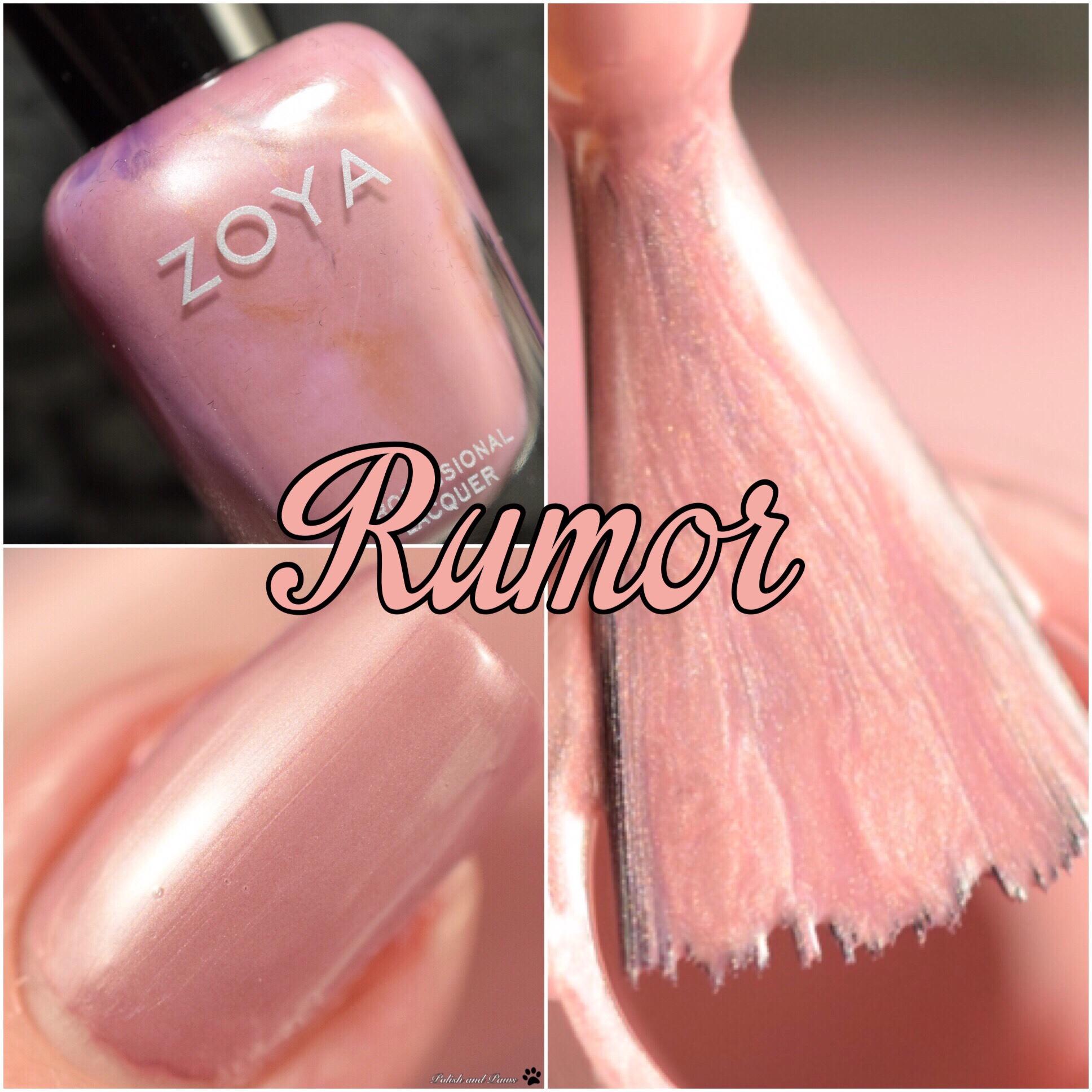 Zoya Rumor