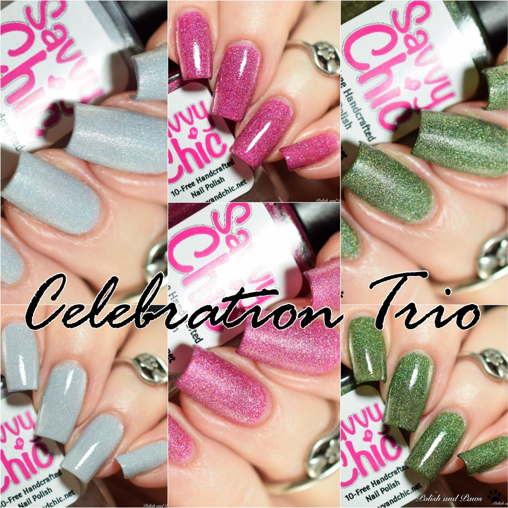 Savvy & Chic Celebration Trio