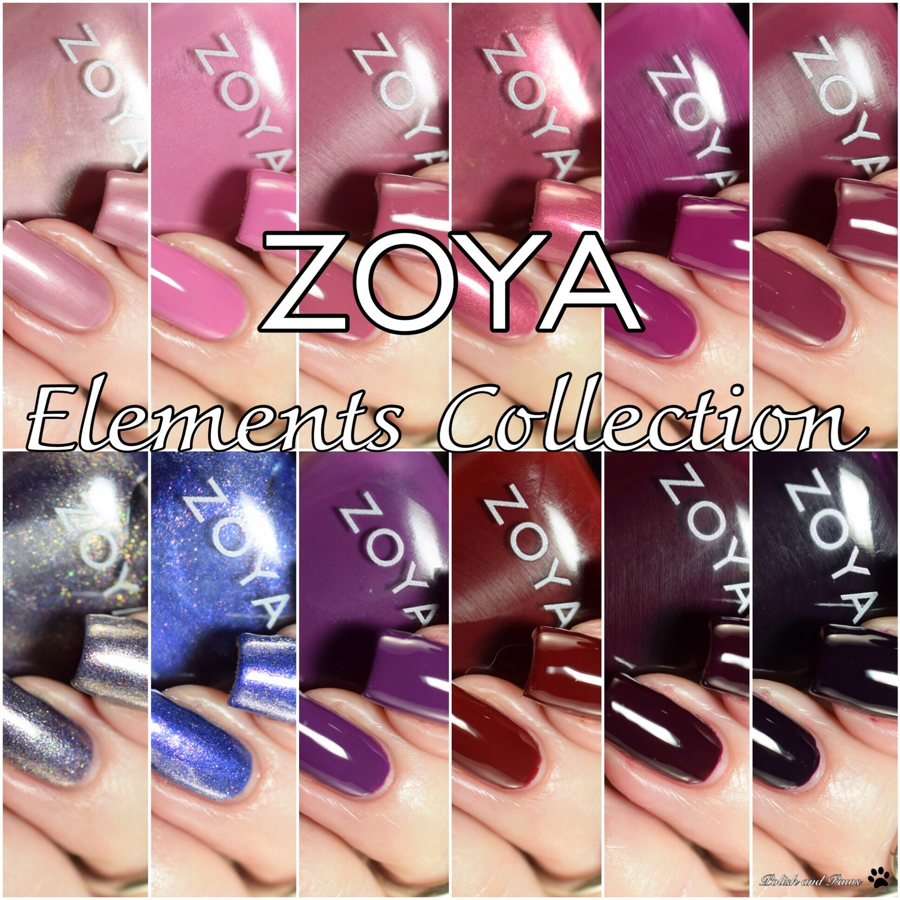 Zoya Elements Collection ~ Fall 2018