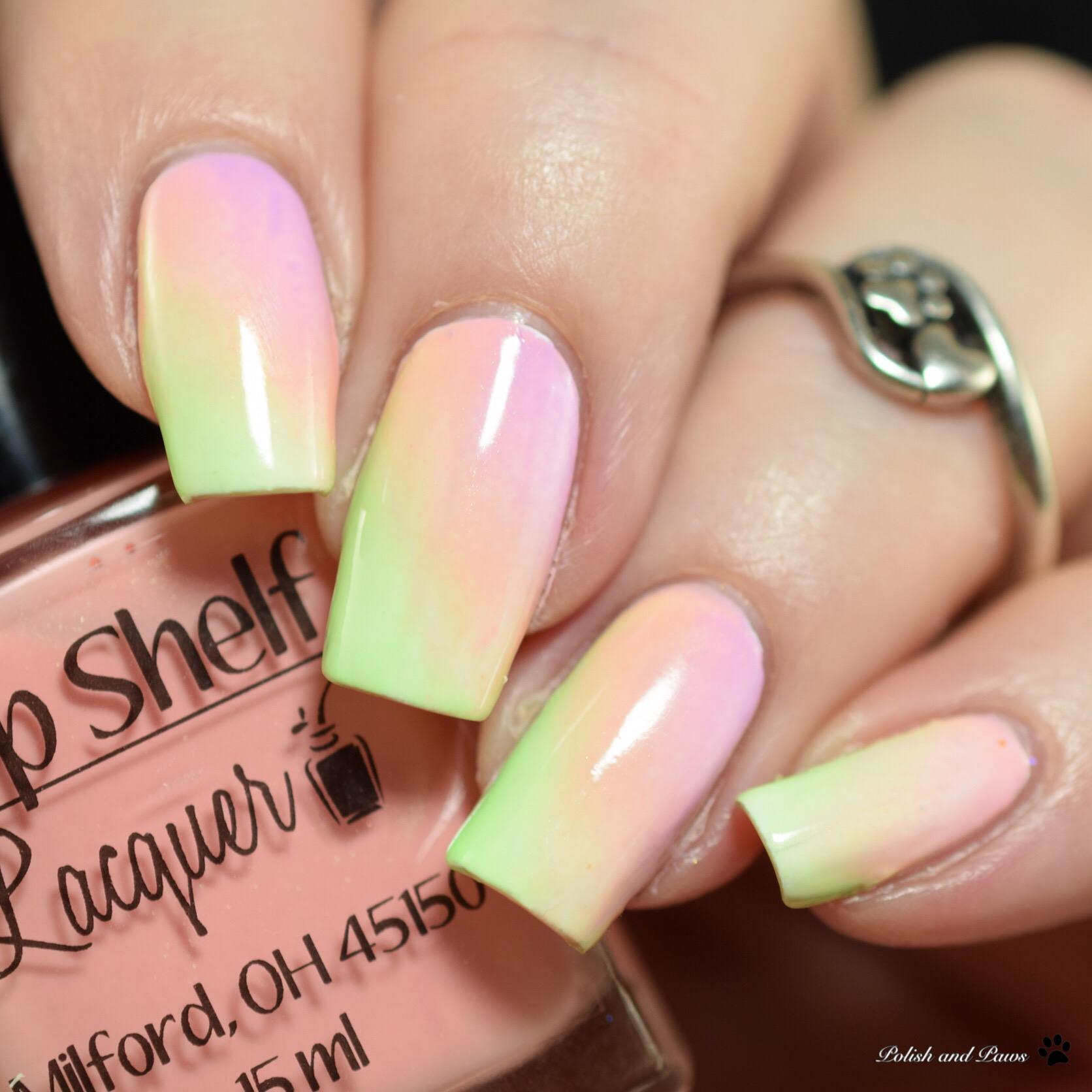 Top Shelf Lacquer Gradient Nails