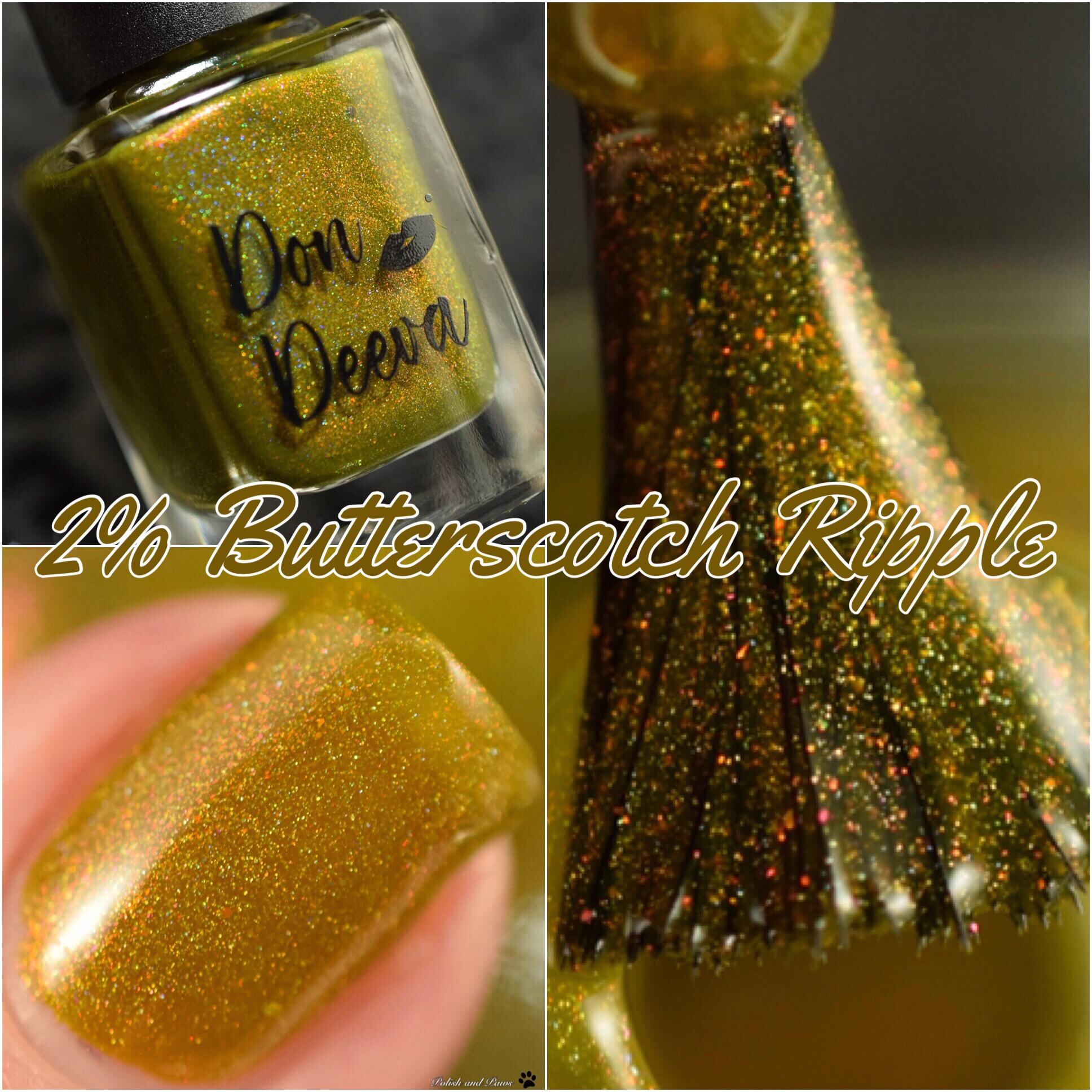 Don Deeva 2% Butterscotch Ripple