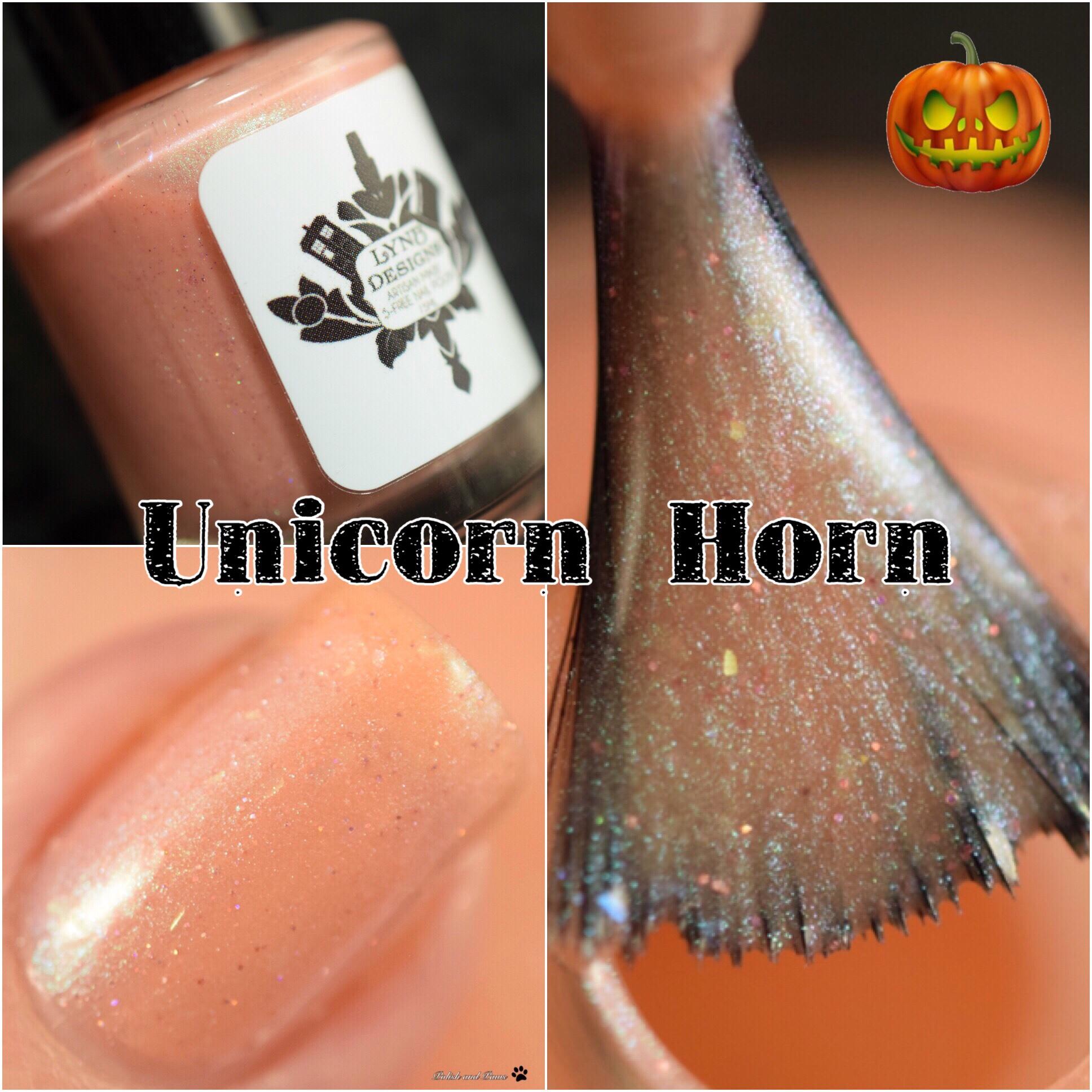 LynB Designs Unicorn Horn