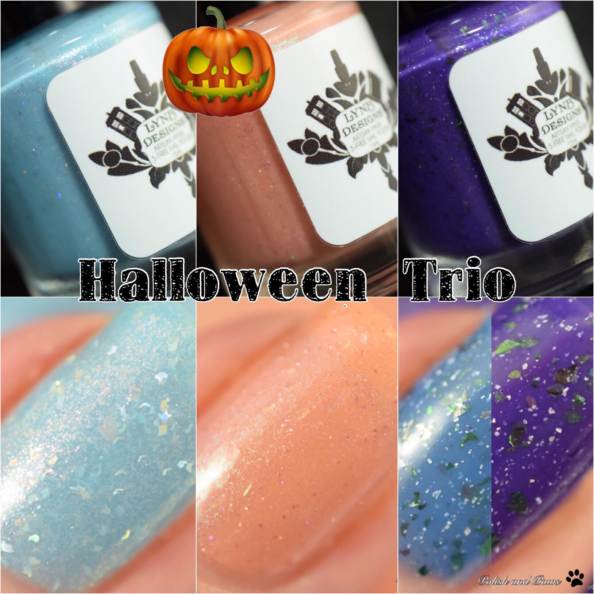 LynB Designs Halloween Trio