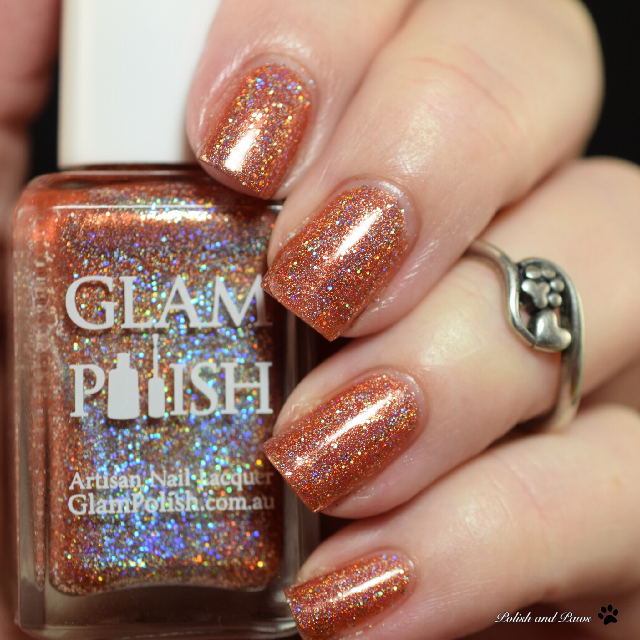 Glam Polish Hail to the Pumpkin King