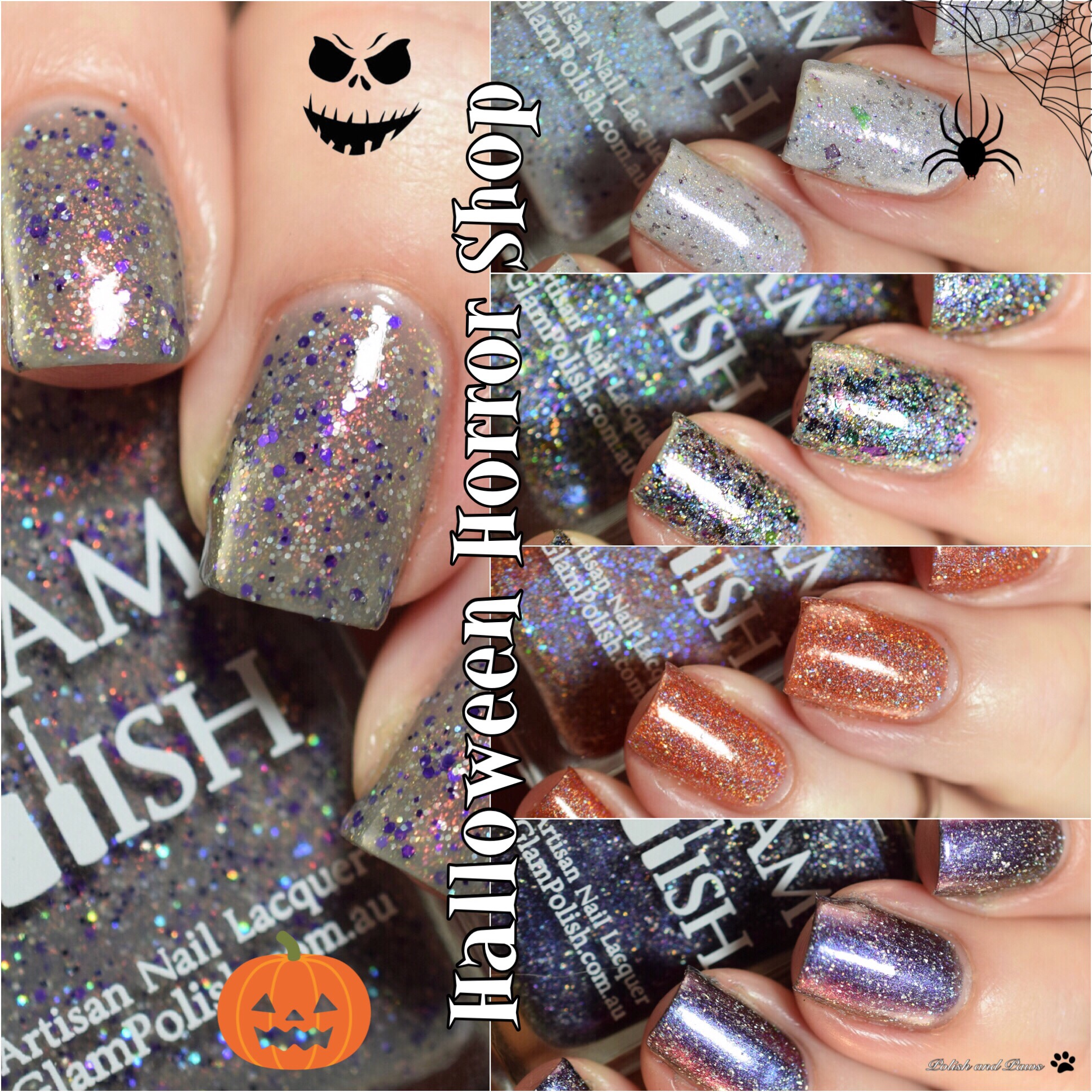 Glam Polish Halloween Horror Shop Sale ~ Partial