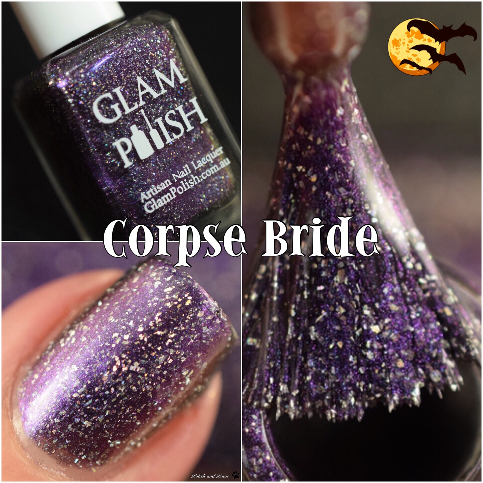 Glam Polish Corpse Bride