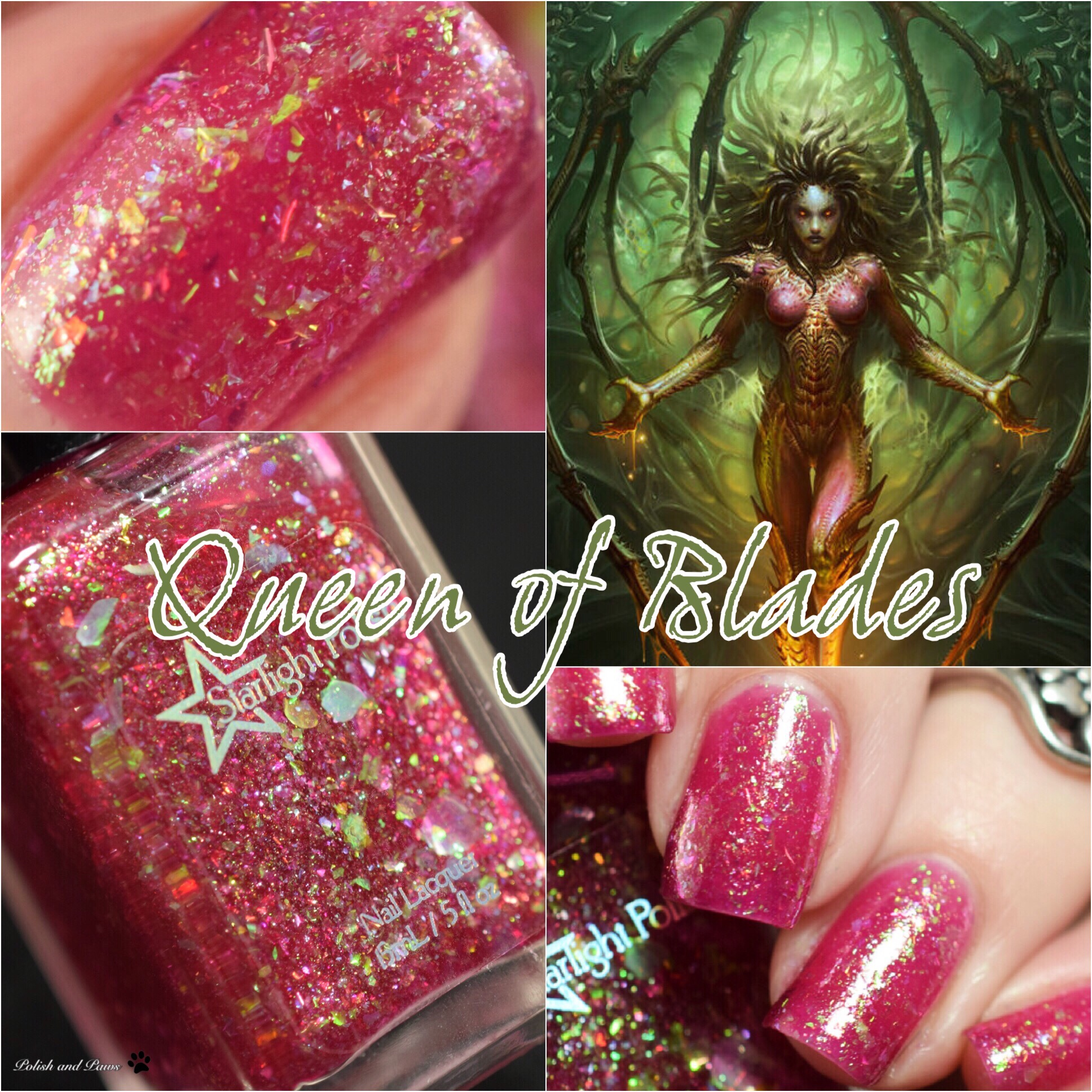 Polish Pickup ~ Starlight Polish Queen of Blades
