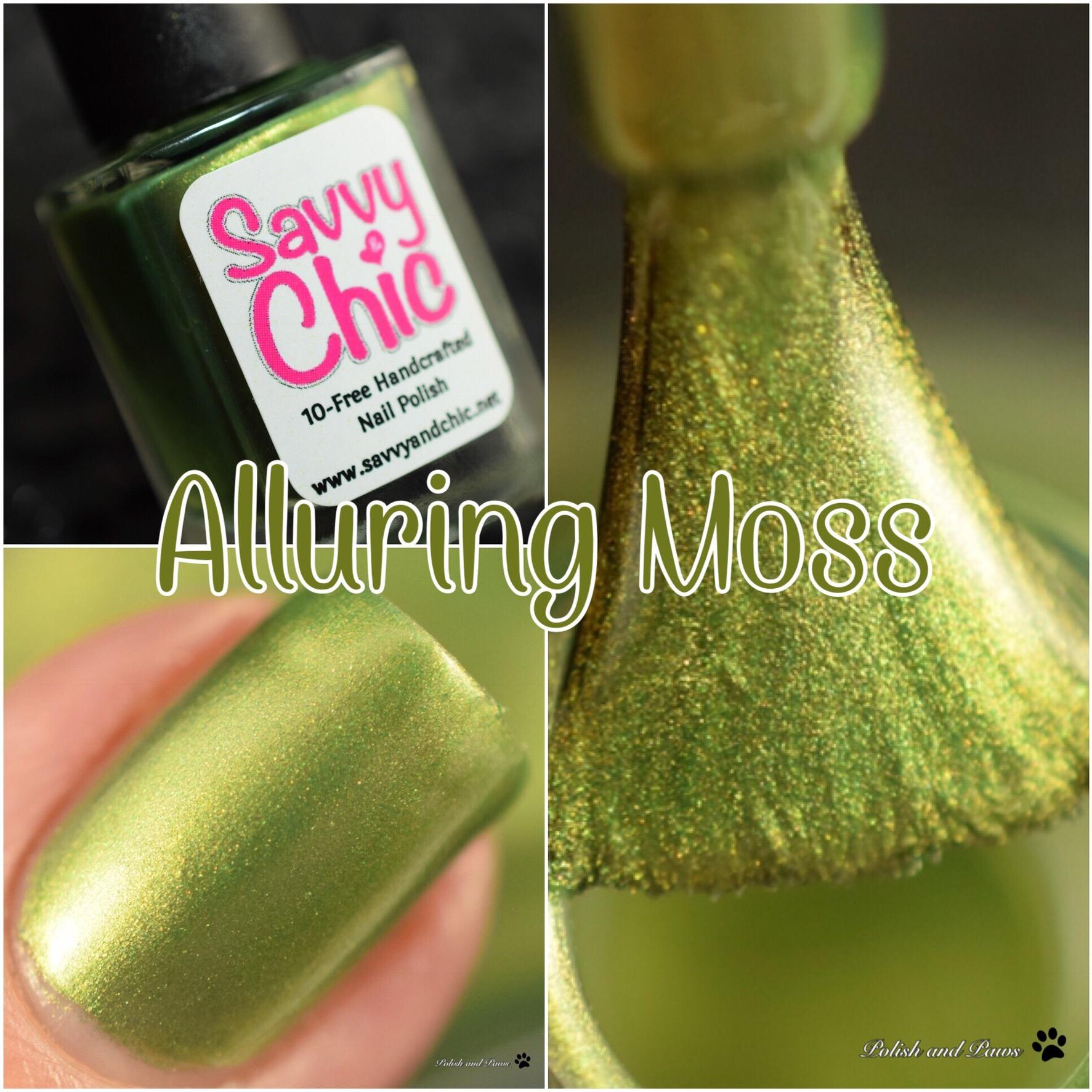 Savvy & Chic Alluring Moss