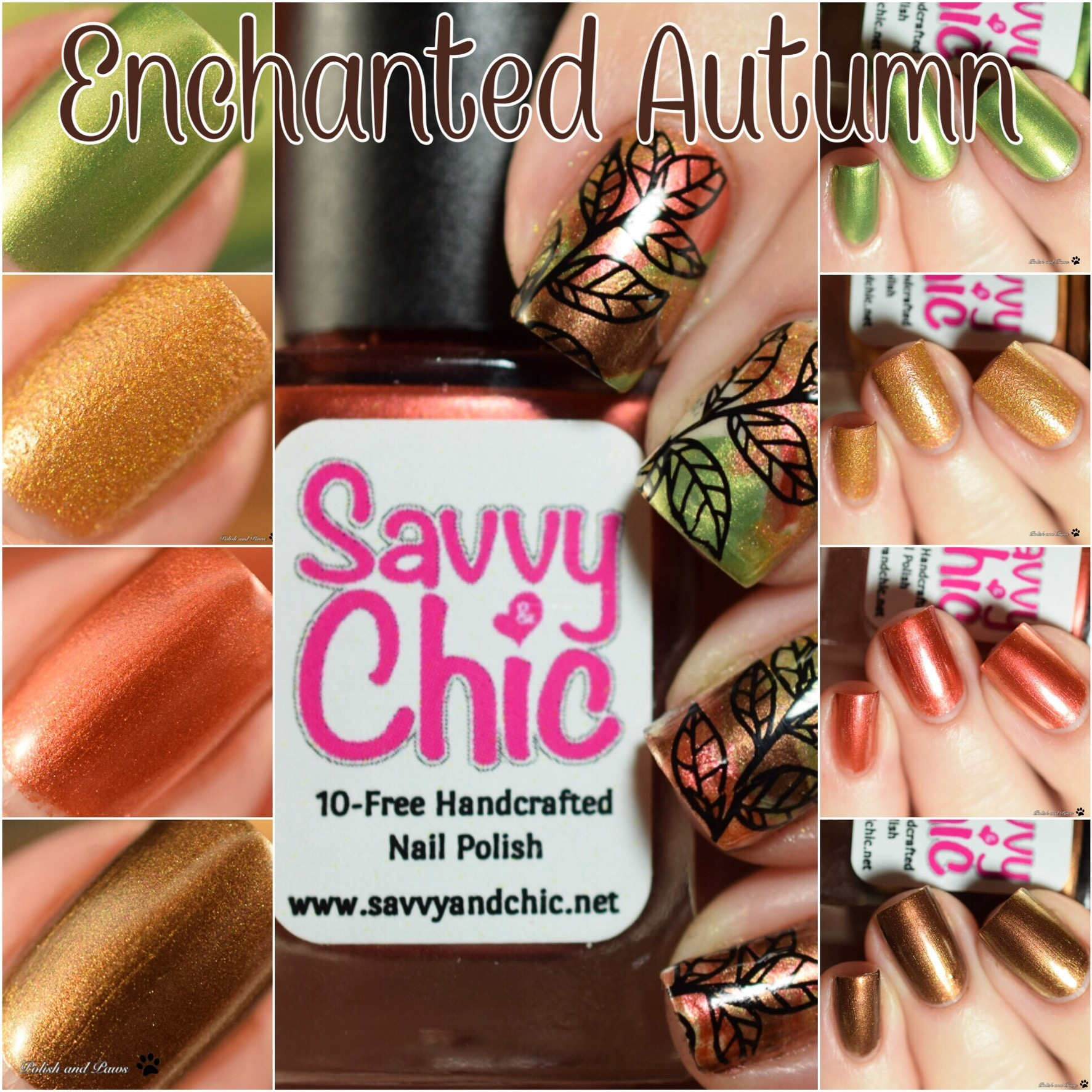 Savvy & Chic Lacquer Enchanted Autumn Collection