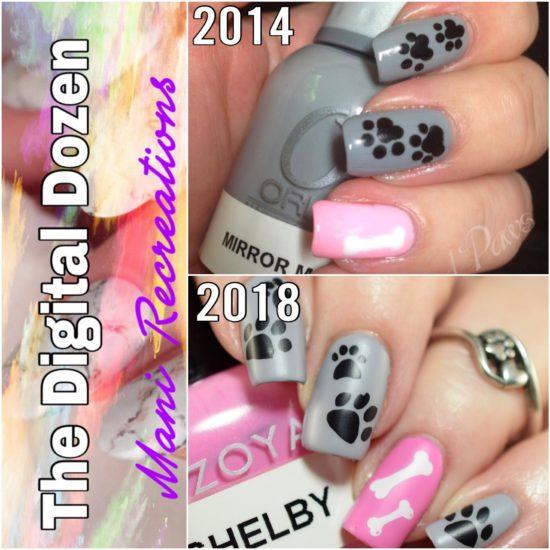 Dog Nail Art Polish And Paws