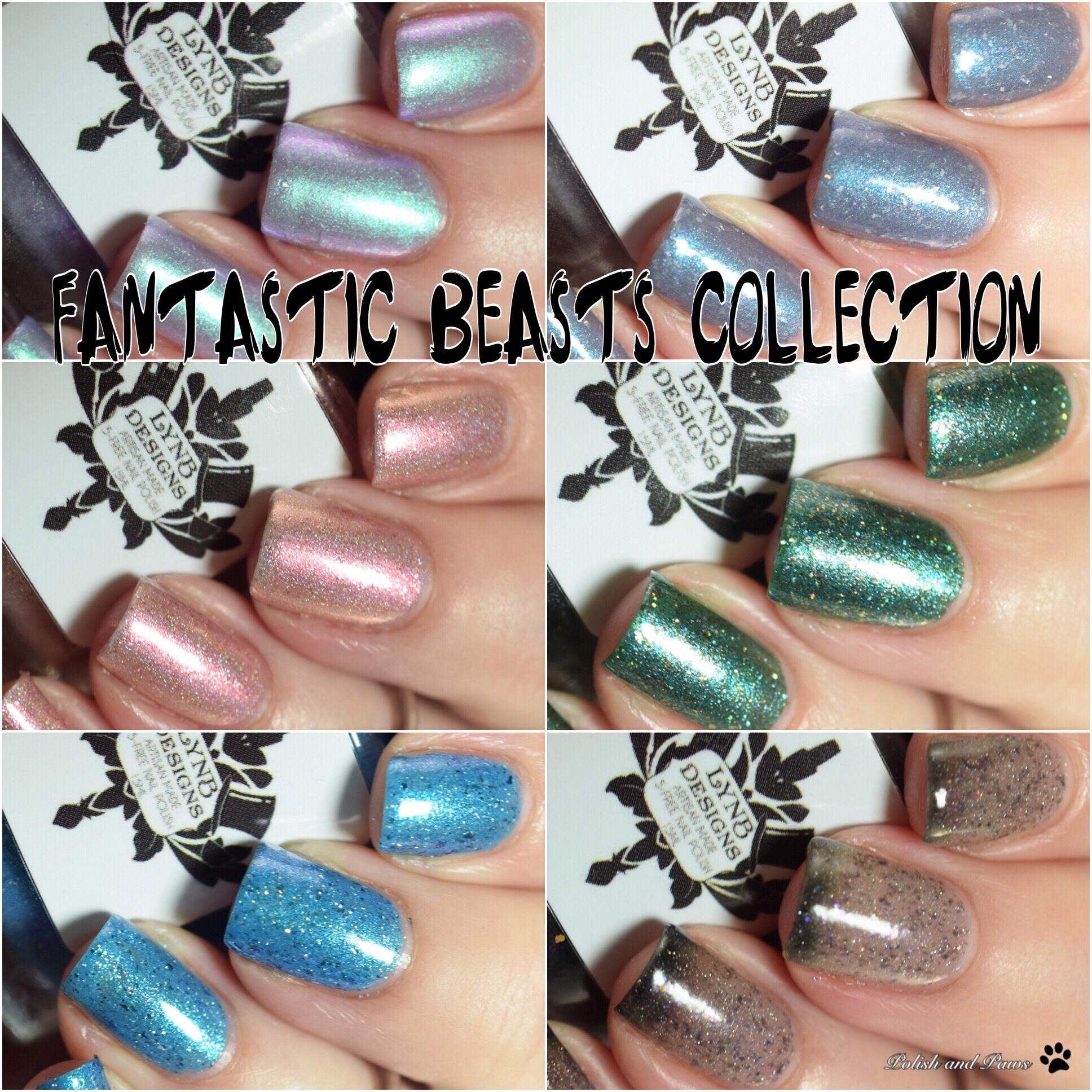 LynB Designs Fantastic Creatures Collection