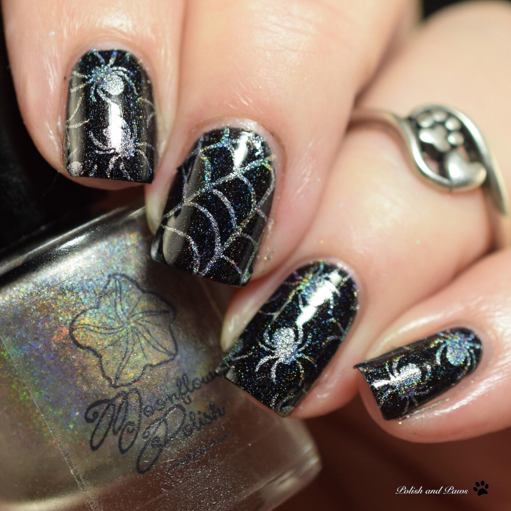 Moonflower Polish Diamante
