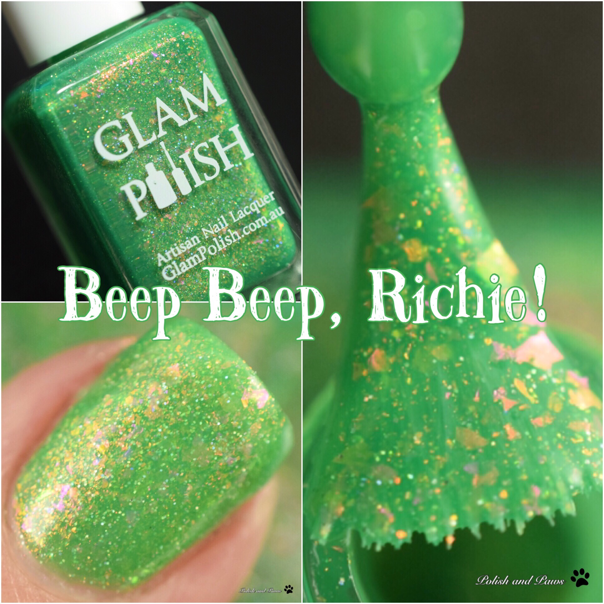 Glam Polish Beep, Beep, Richie!