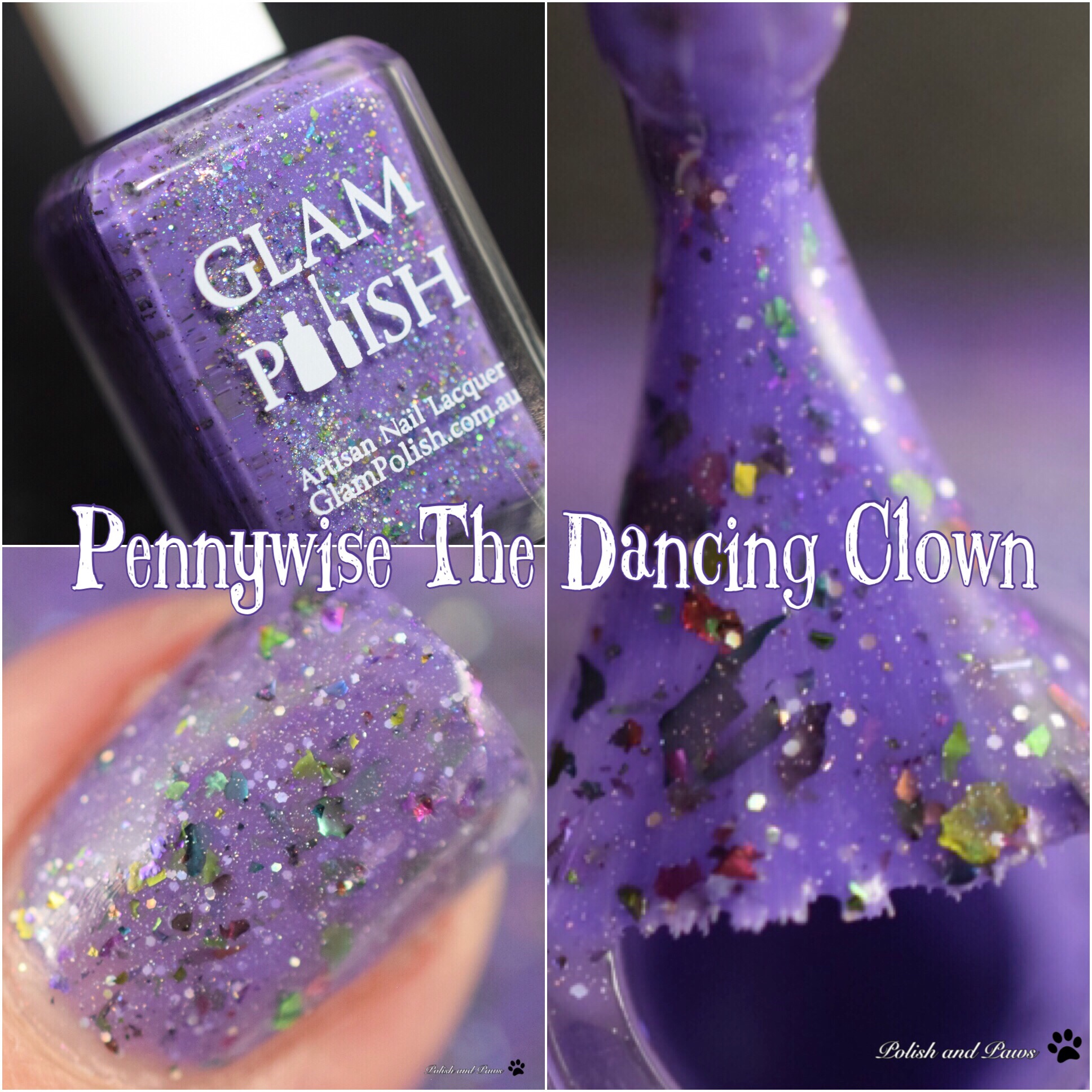 Glam Polish Pennywise The Dancing Clown