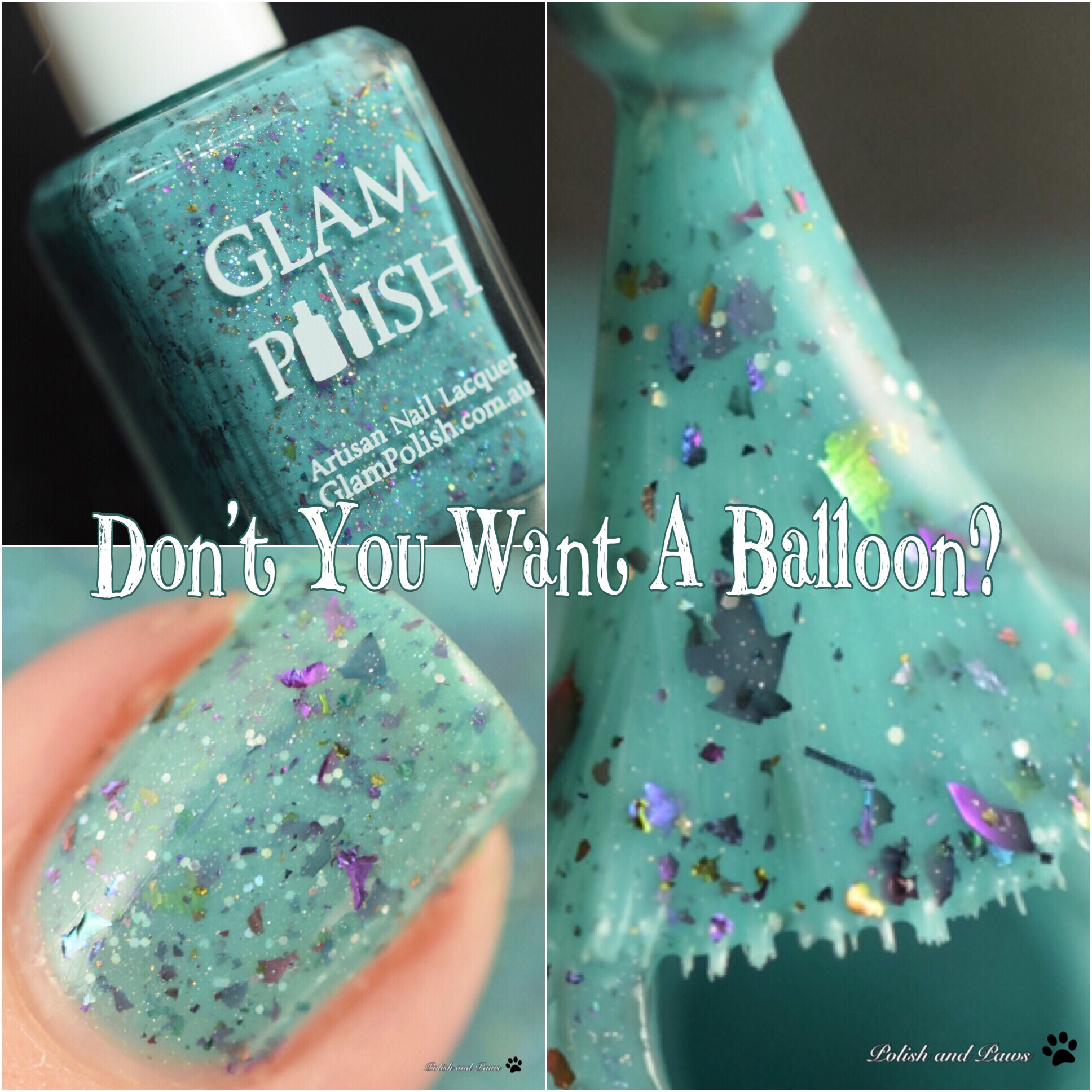 Glam Polish Don't You Want a Balloon?