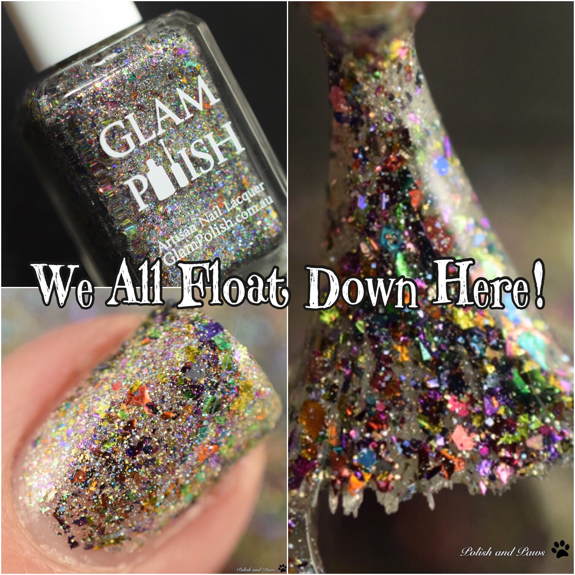 Glam Polish We All Float Down Here!