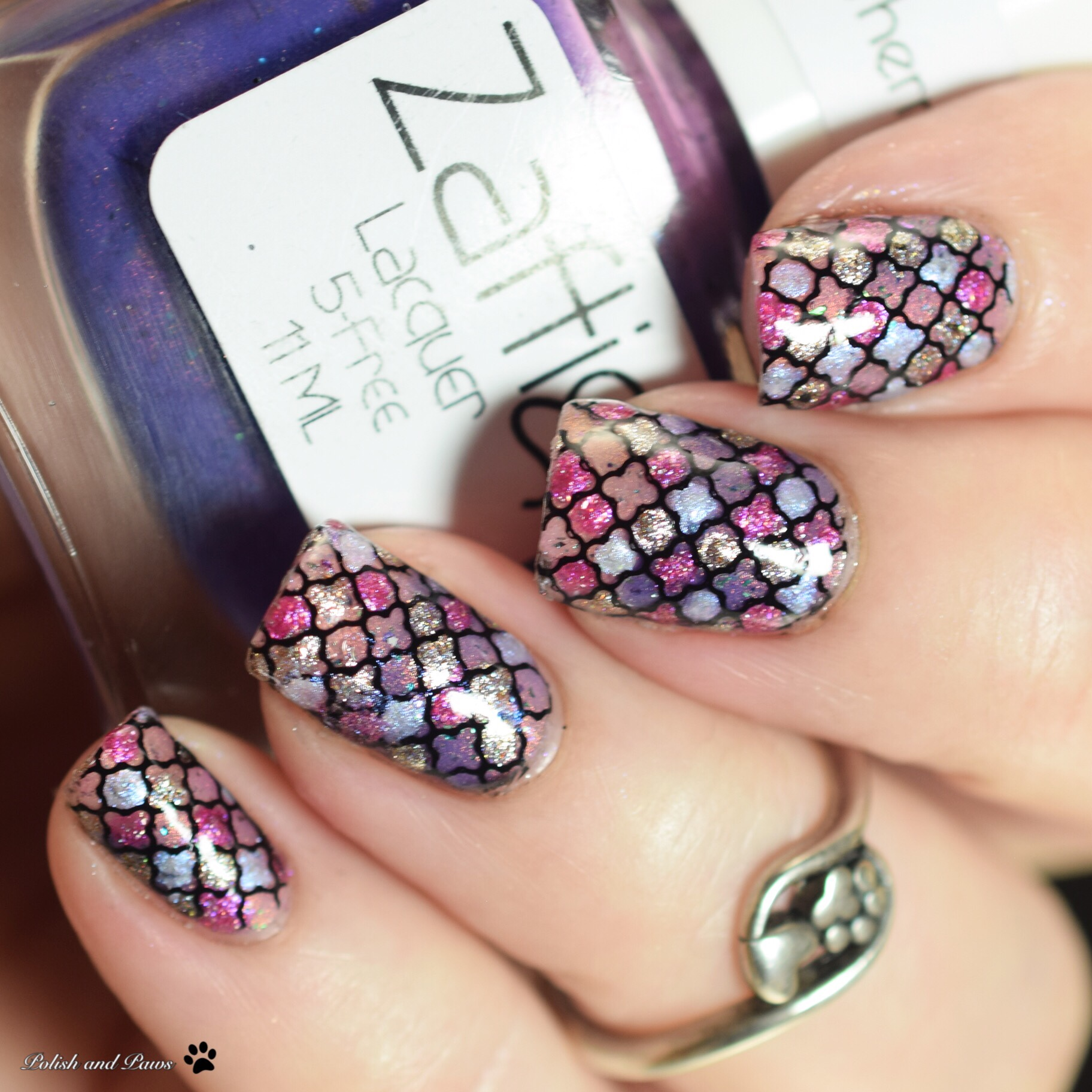 Nail Art Zaftig Lacquer Bawdy House Collection