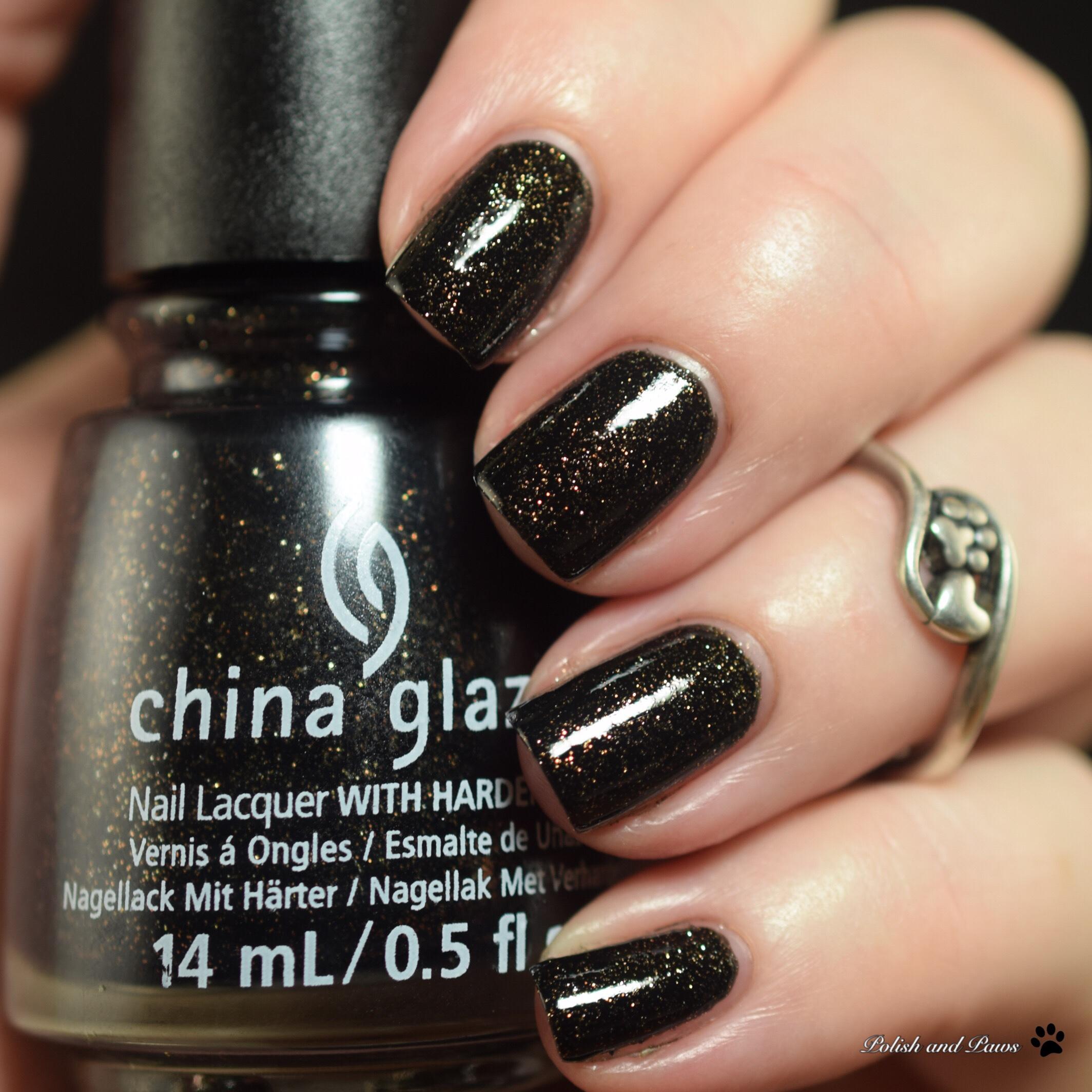China Glaze Ash & Burn
