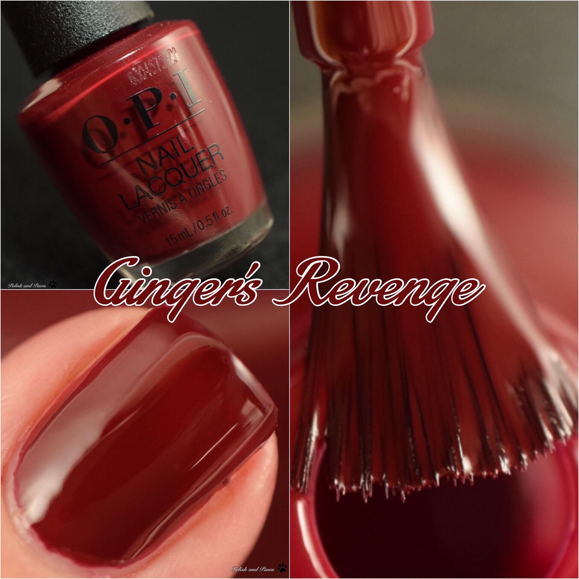 OPI Ginger's Revenge