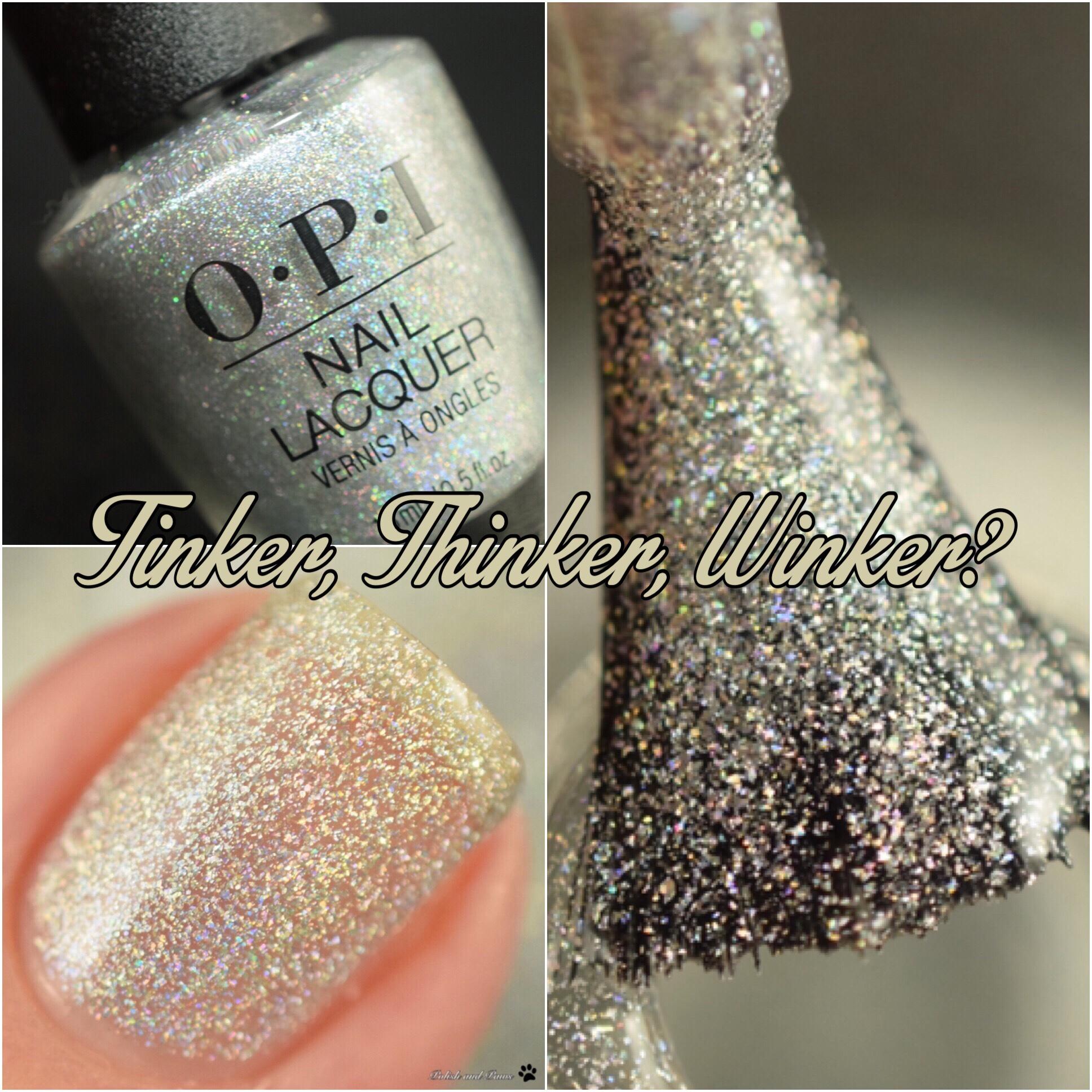 OPI Tinker, Thinker, Winker?