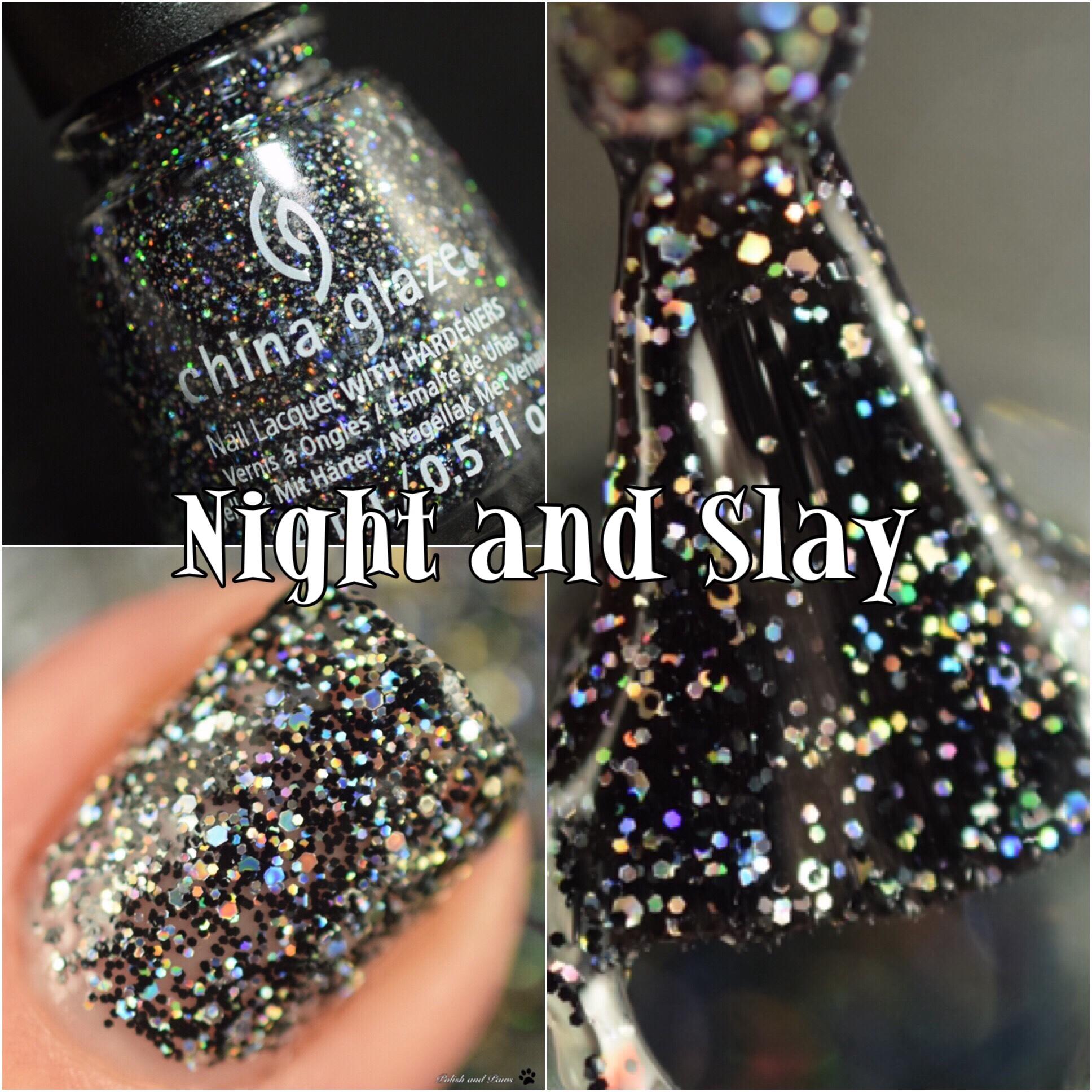 China Glaze Night and Slay