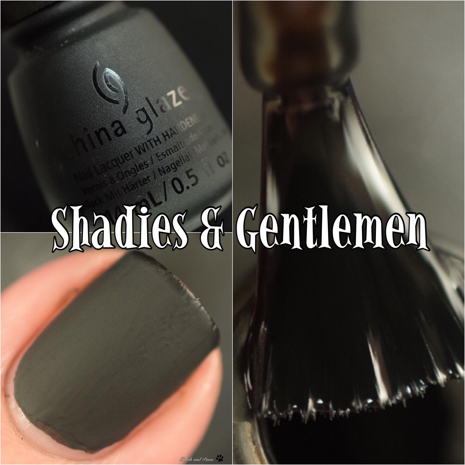 China Glaze Shadies & Gentlemen