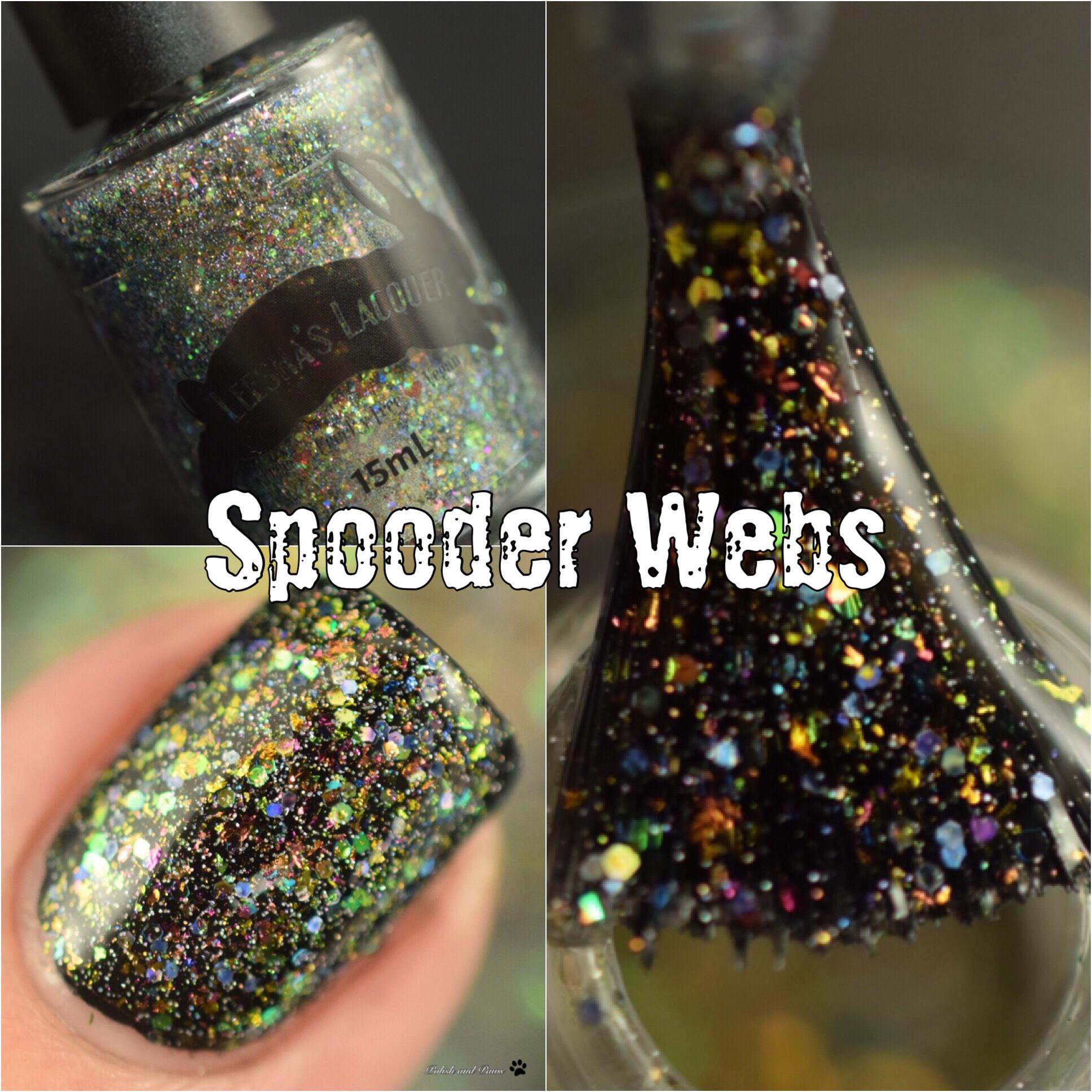 Leesha's Lacquer Spooder Webs