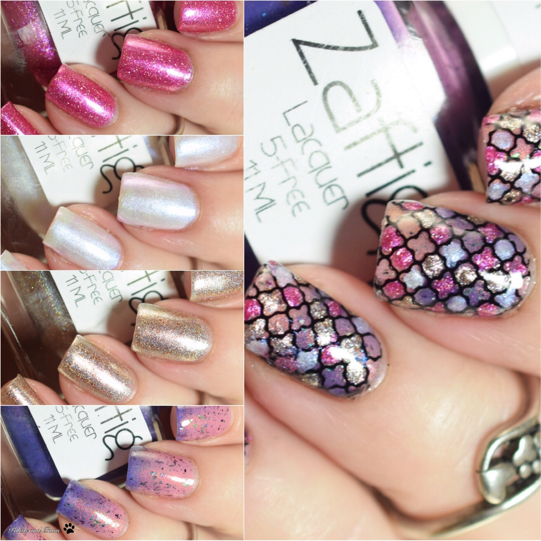 Zaftig Lacquer Bawdy House Collection