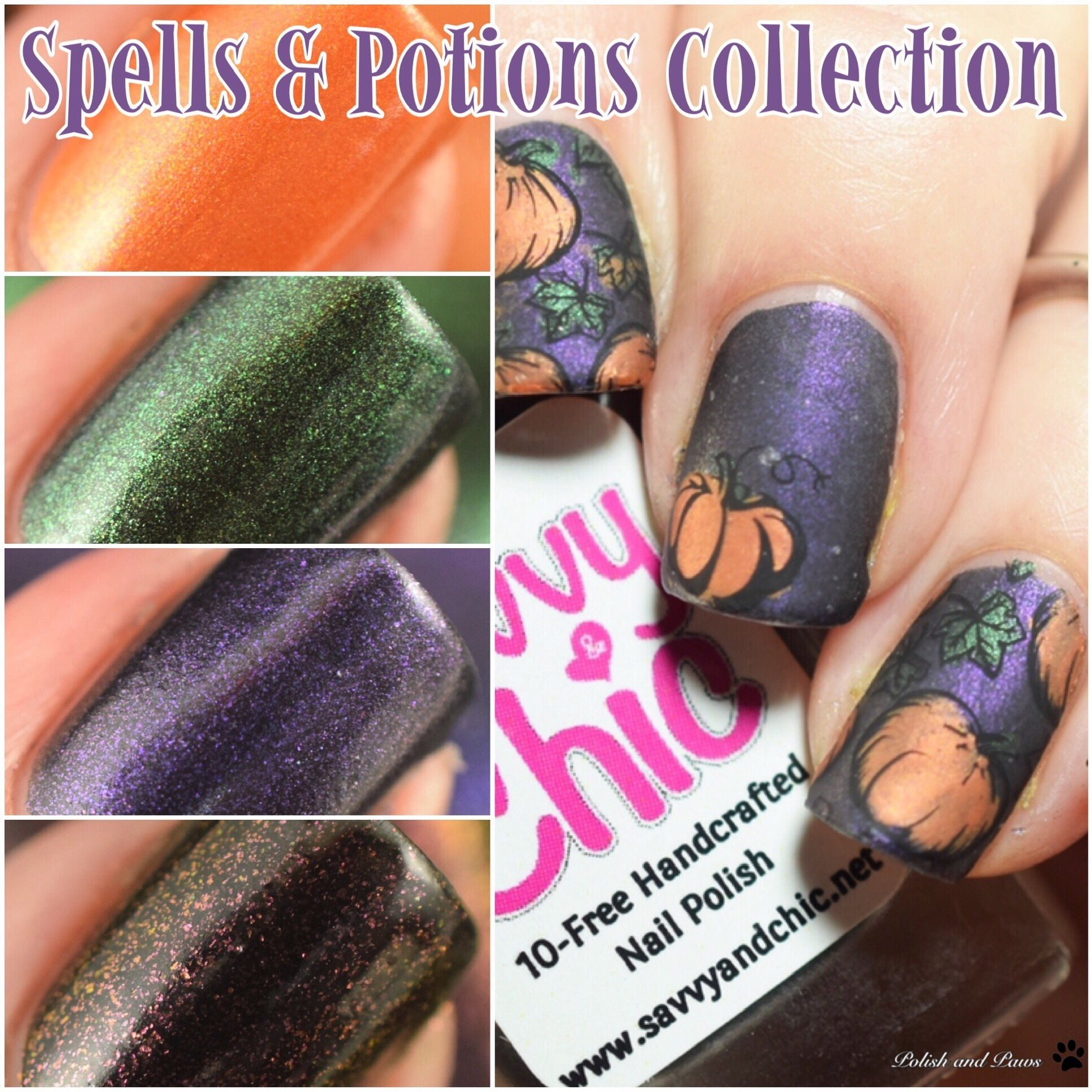 Savvy & Chic Lacquer Spells & Potions Collection
