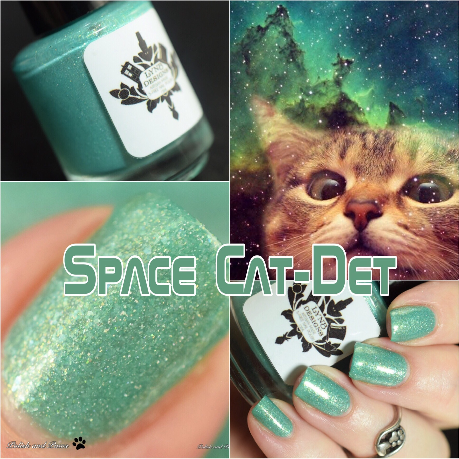 LynB Designs Space Cat-Det ~ Indie Positivity Group Custom