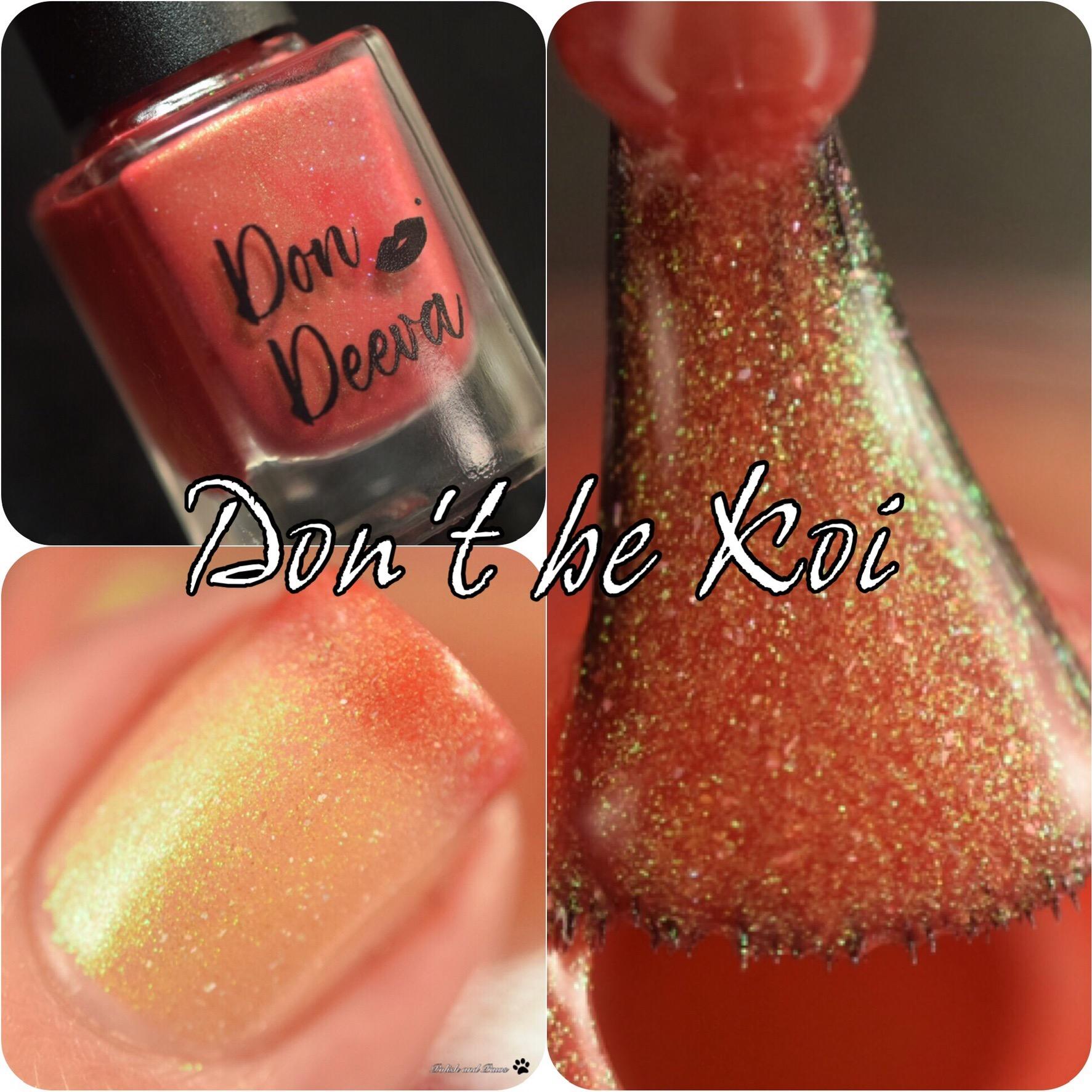 Don Deeva Don't be Koi