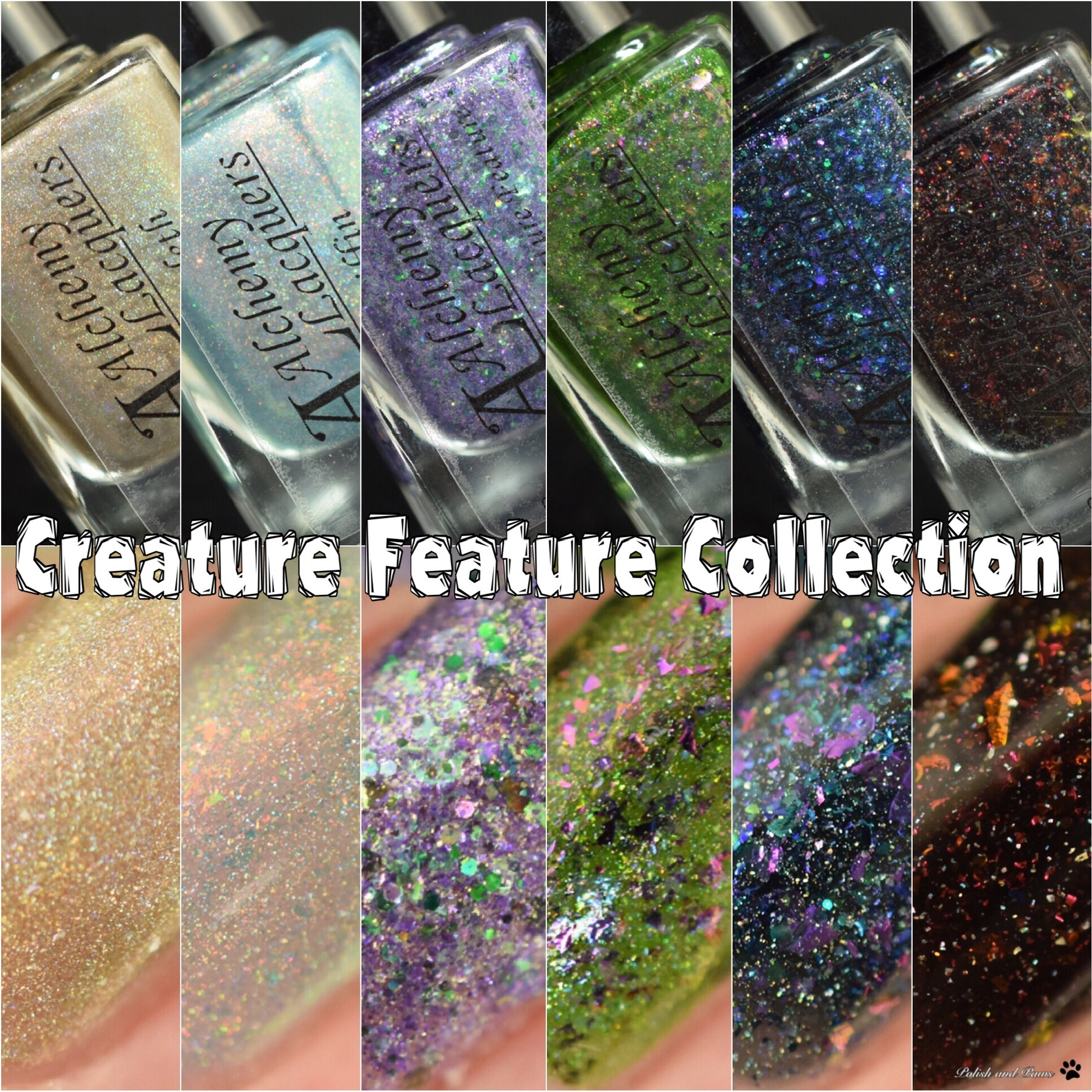 Alchemy Lacquers Creature Feature Collection LE