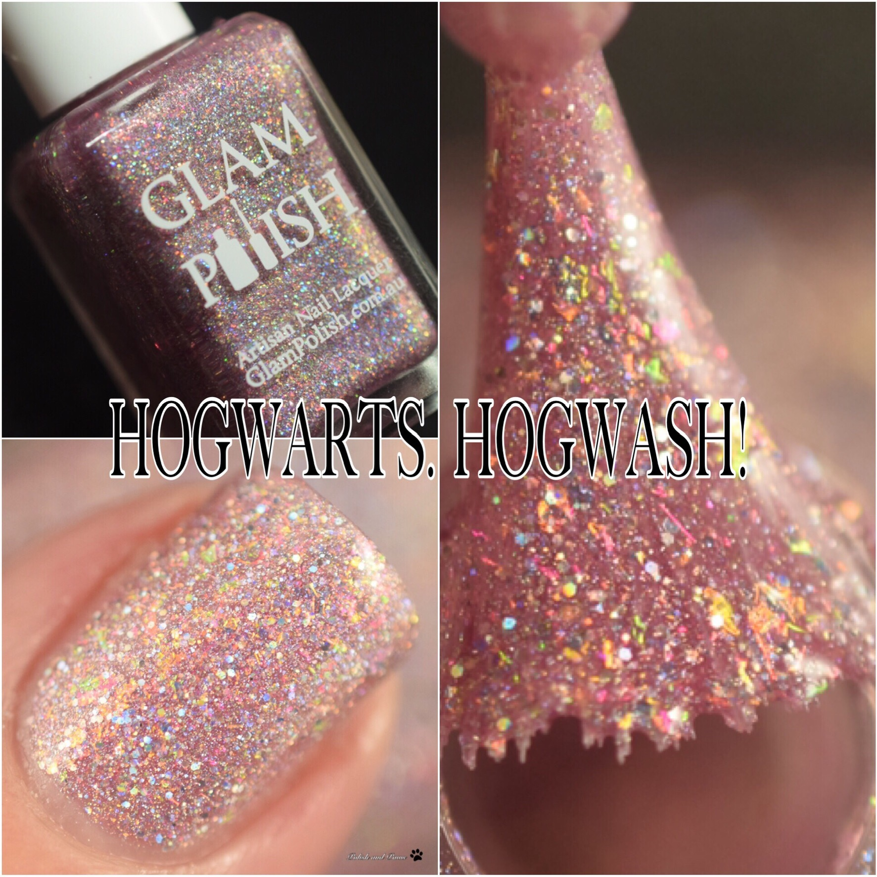 Glam Polish Hogwarts. Hogwash!